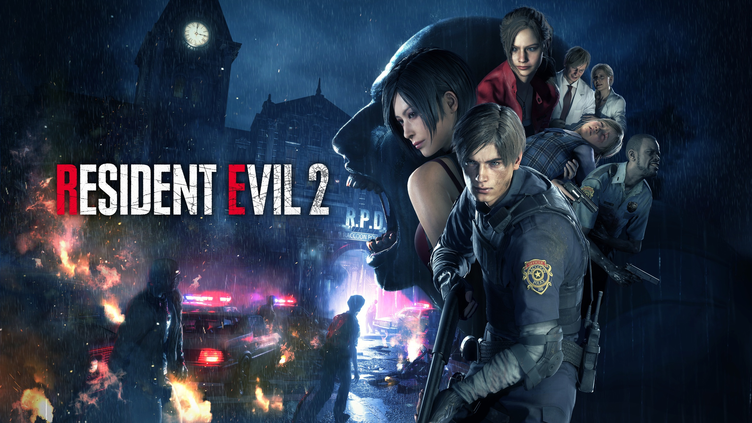 2560x1440 2019 Resident Evil 2 4k 1440P Resolution HD 4k ...