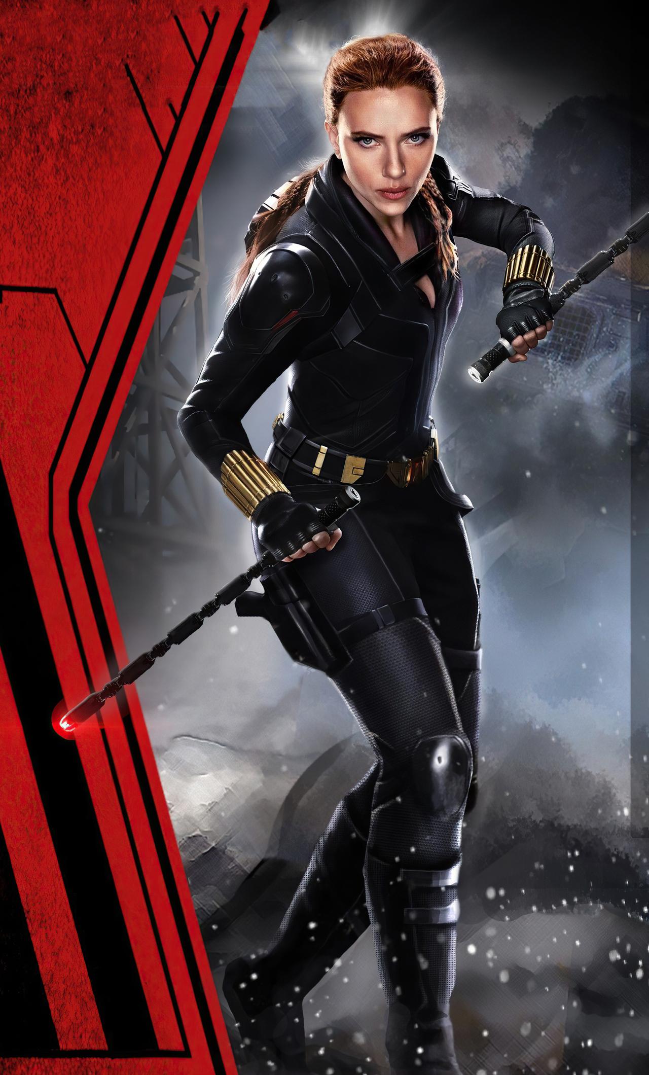 1280x2120 2020 Black Widow Movie 4k iPhone 6+ HD 4k ...