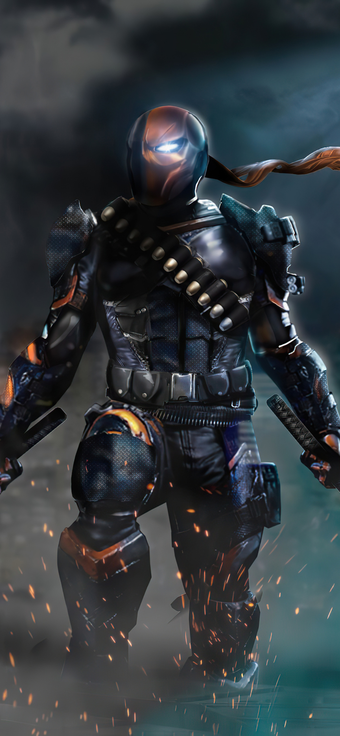 1125x2436 2020 Deathstroke 4k Artwork Iphone Xs Iphone 10 Iphone X Hd 4k Wallpapers Images Backgrounds Photos And Pictures