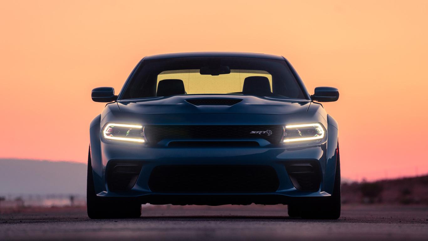 1366x768 2020 Dodge Charger Srt Hellcat Widebody 1366x768