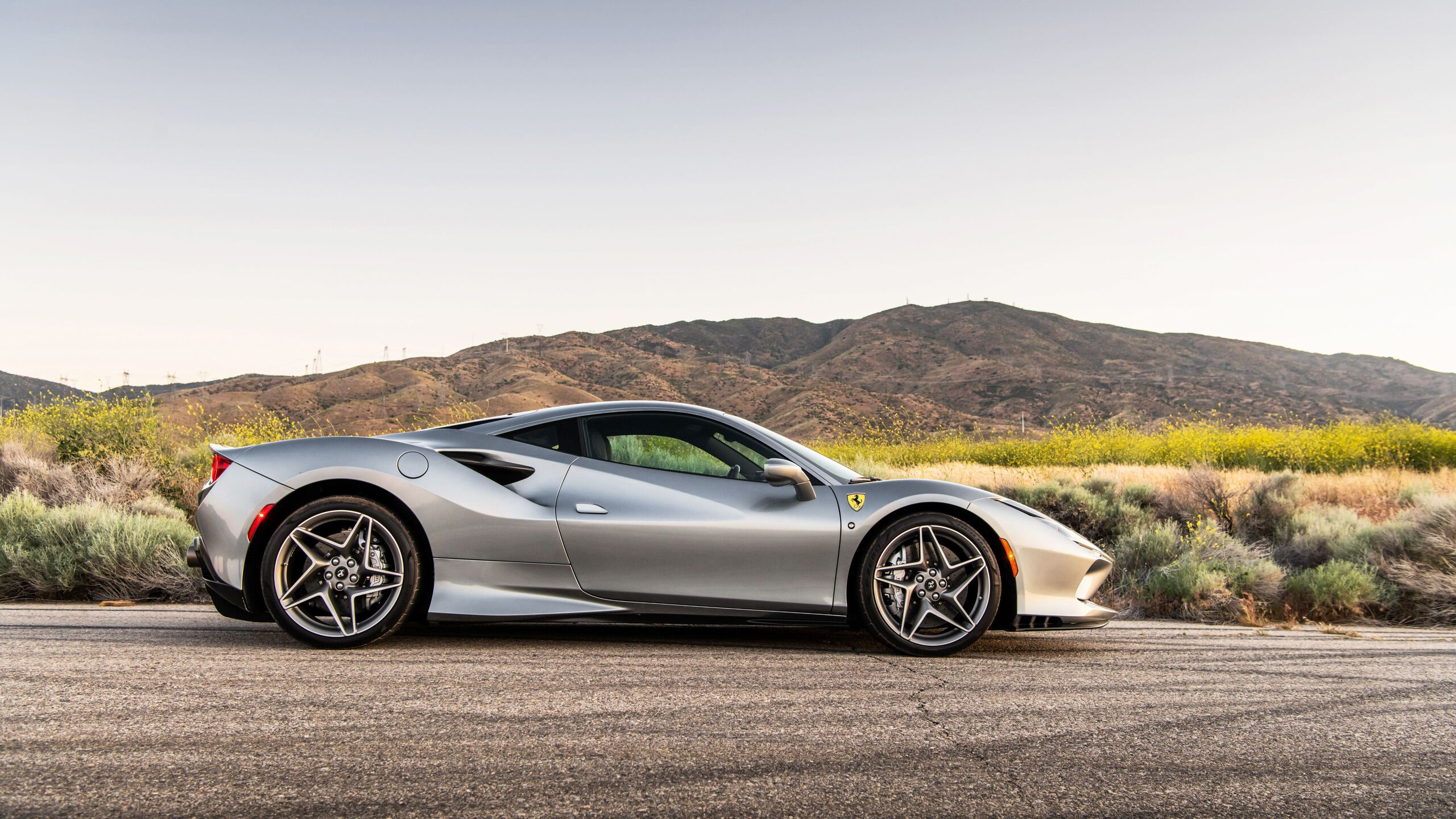 2560x1440 2020 Ferrari F8 Tributo Side View 1440p Resolution Hd 4k Wallpapers Images Backgrounds Photos And Pictures