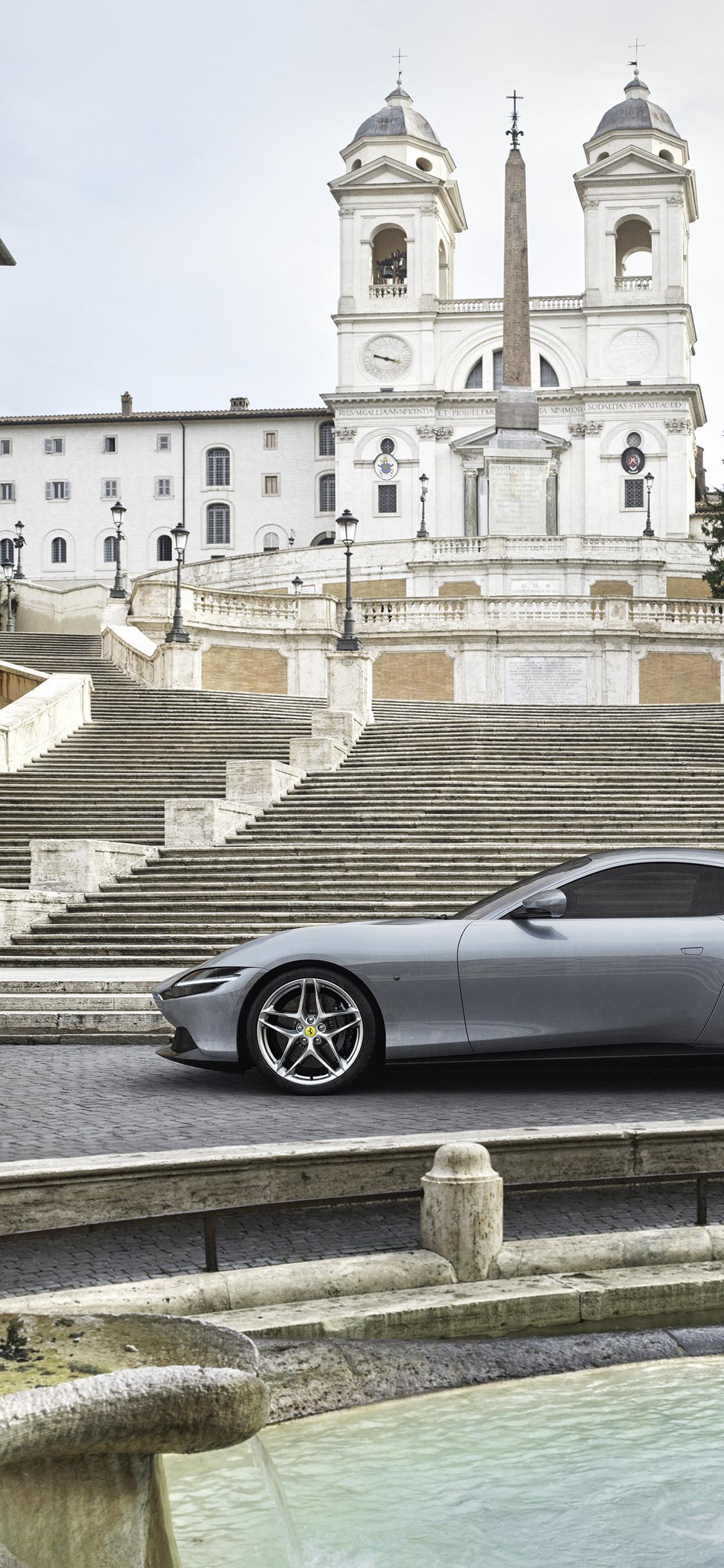 1125x2436 2020 Ferrari Roma 4k Iphone Xsiphone 10iphone X