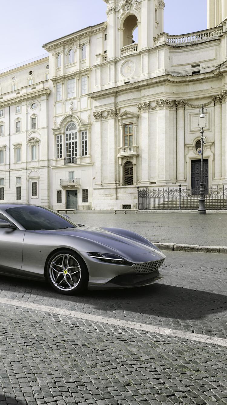 750x1334 2020 Ferrari Roma Iphone 6 Iphone 6s Iphone 7 Hd