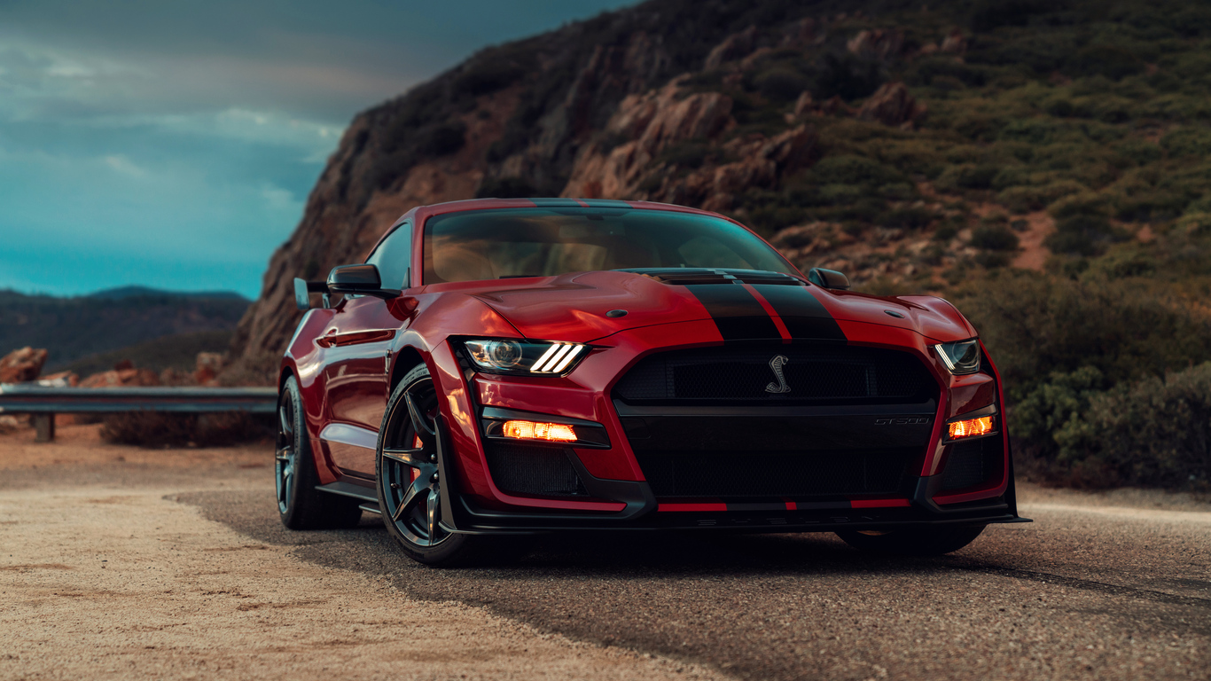 1366x768 2020 Ford Mustang Shelby Gt500 1366x768 Resolution Hd 4k Wallpapers Images Backgrounds Photos And Pictures