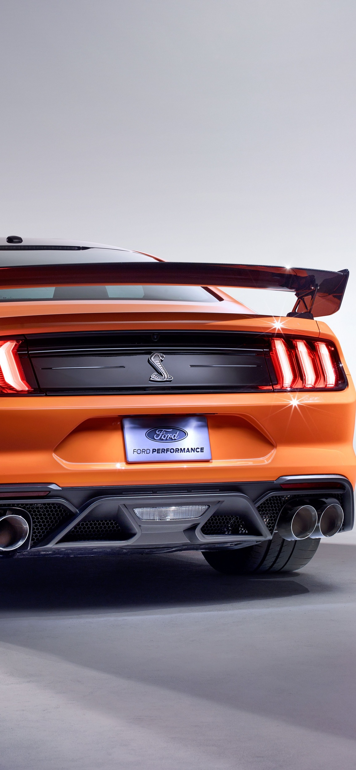 1242x2688 2020 Ford Mustang Shelby GT500 Rear Iphone XS ...