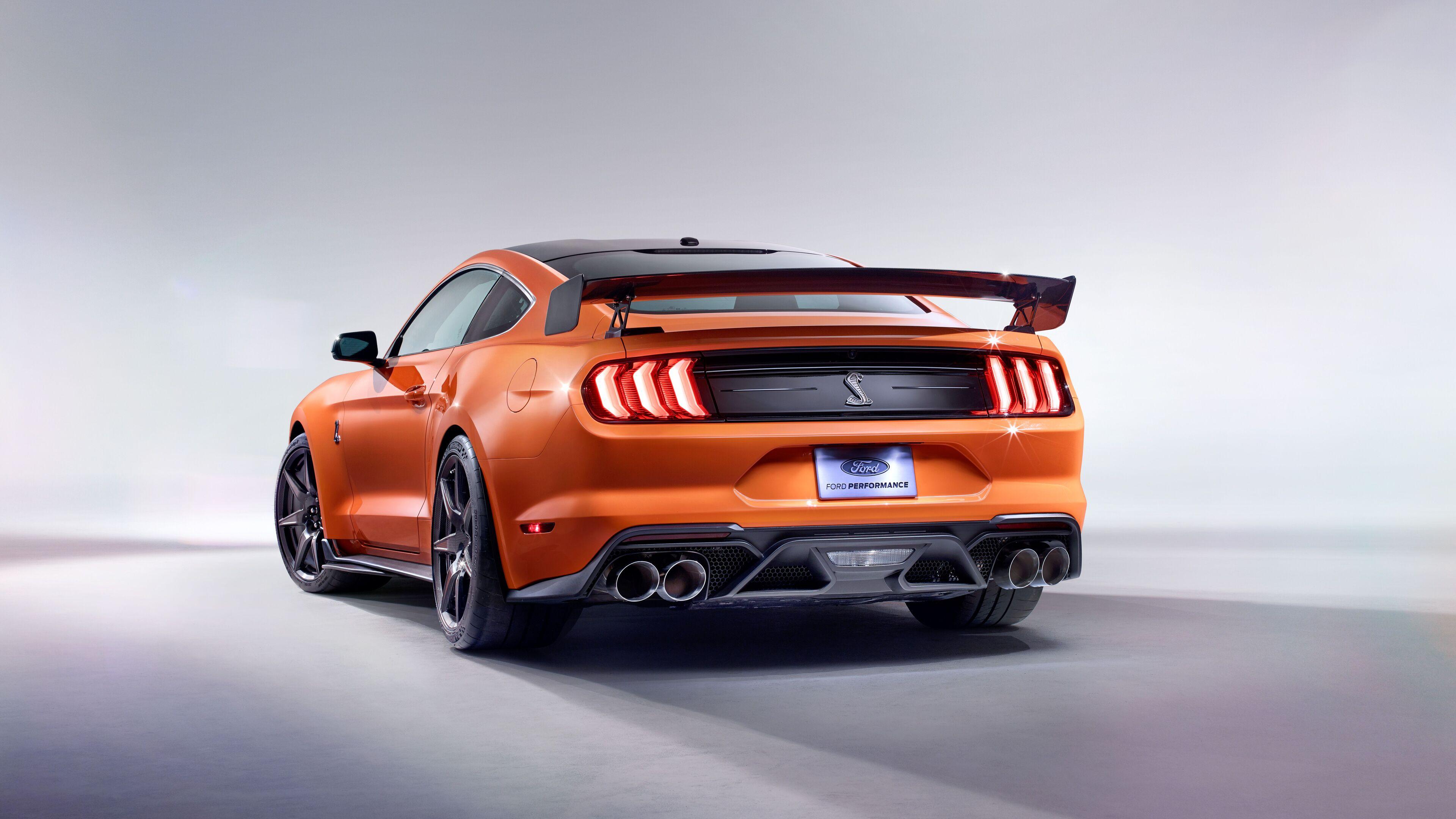 3840x2160 2020 Ford Mustang Shelby GT500 Rear 4k HD 4k ...