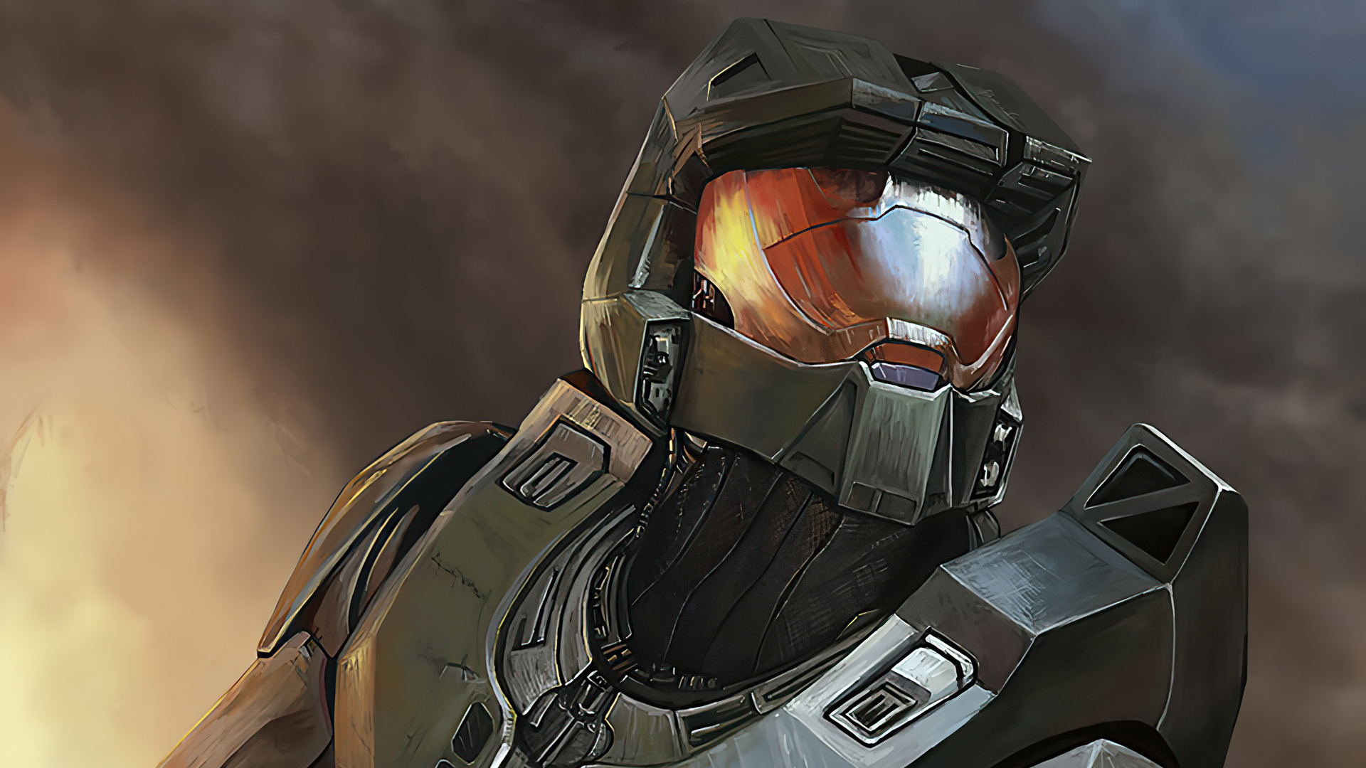 1920x1080 2020 Halo Art Laptop Full HD 1080P HD 4k Wallpapers, Images, Backgrounds, Photos and ...