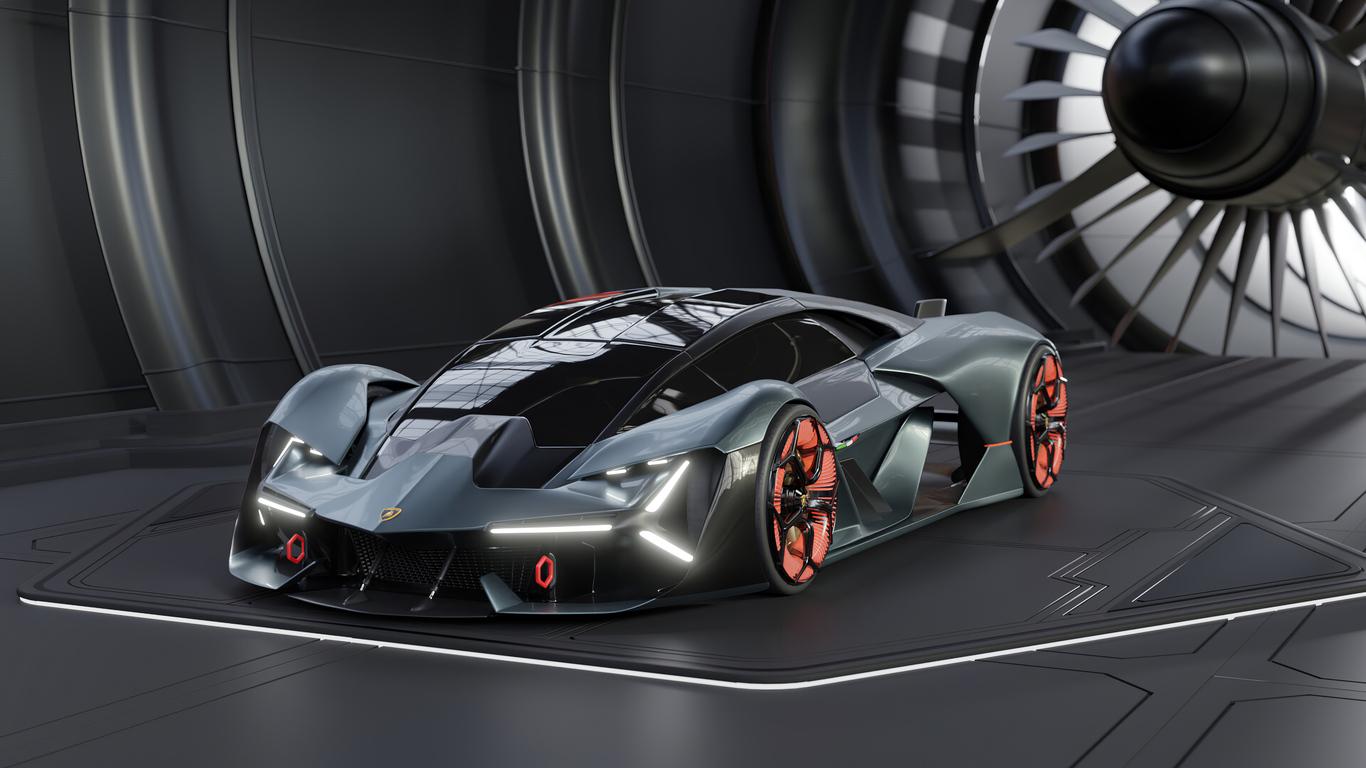 1366x768 2020 Lamborghini Terzo Millennio 4k New 1366x768 ...