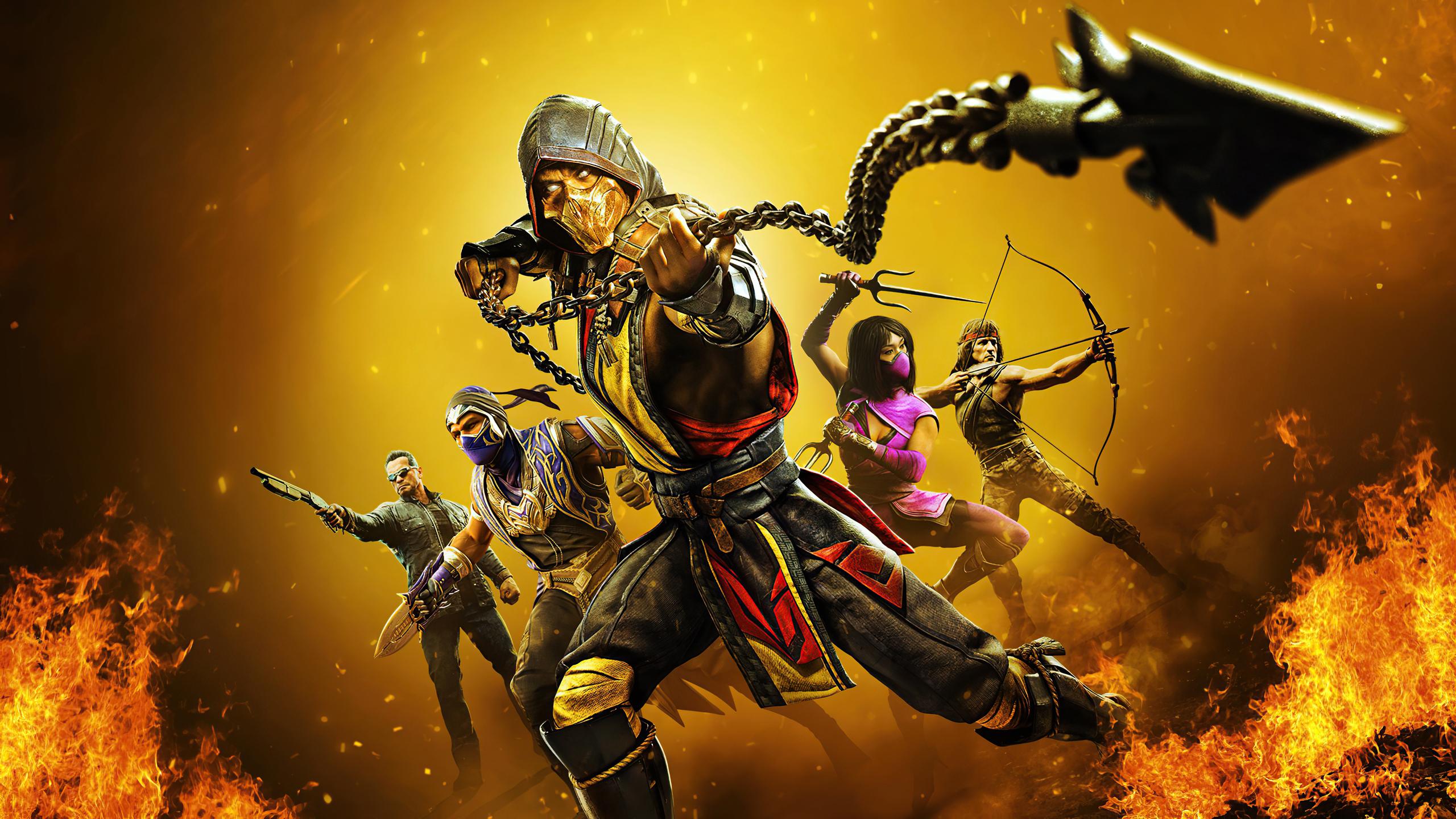2560x1440 2020 Mortal Kombat 11 4k 1440P Resolution HD 4k ...