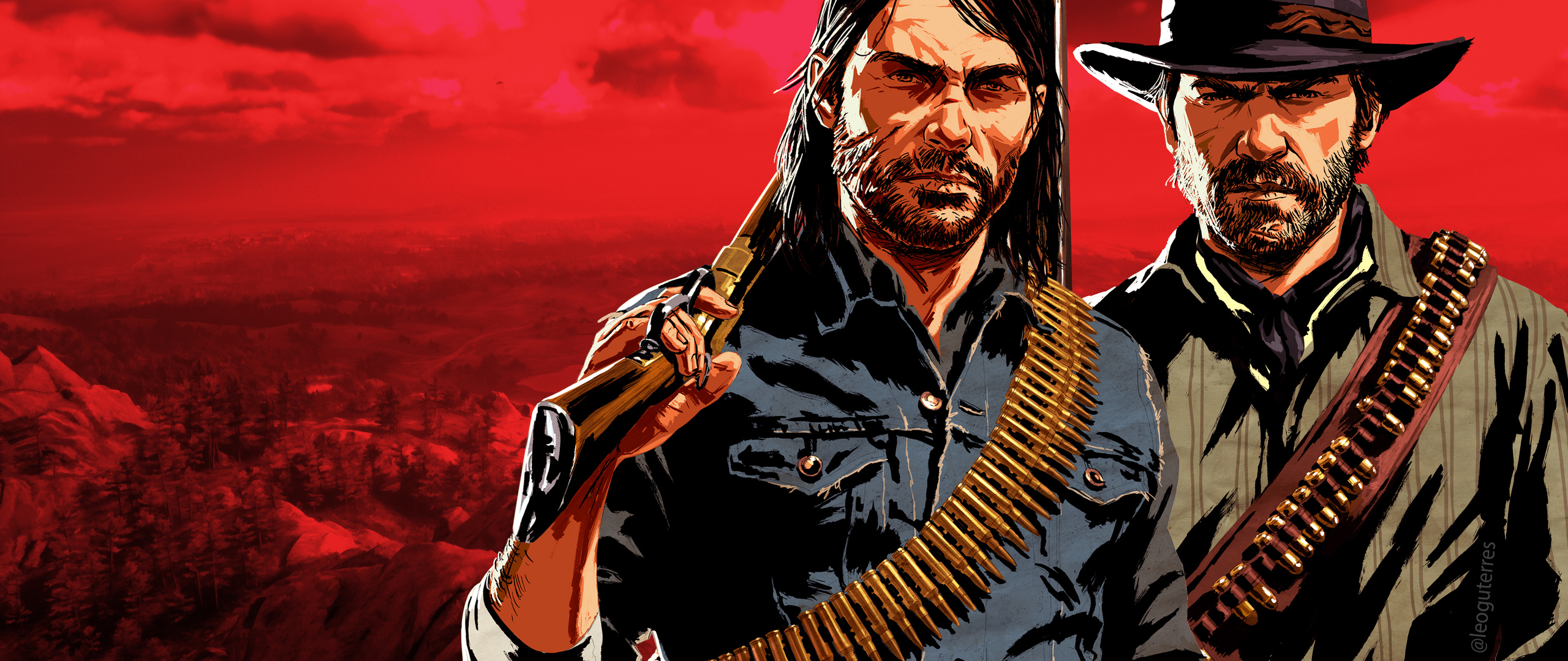 2560x1080 2020 Red Dead Redemption In 2 4k 2560x1080 ...