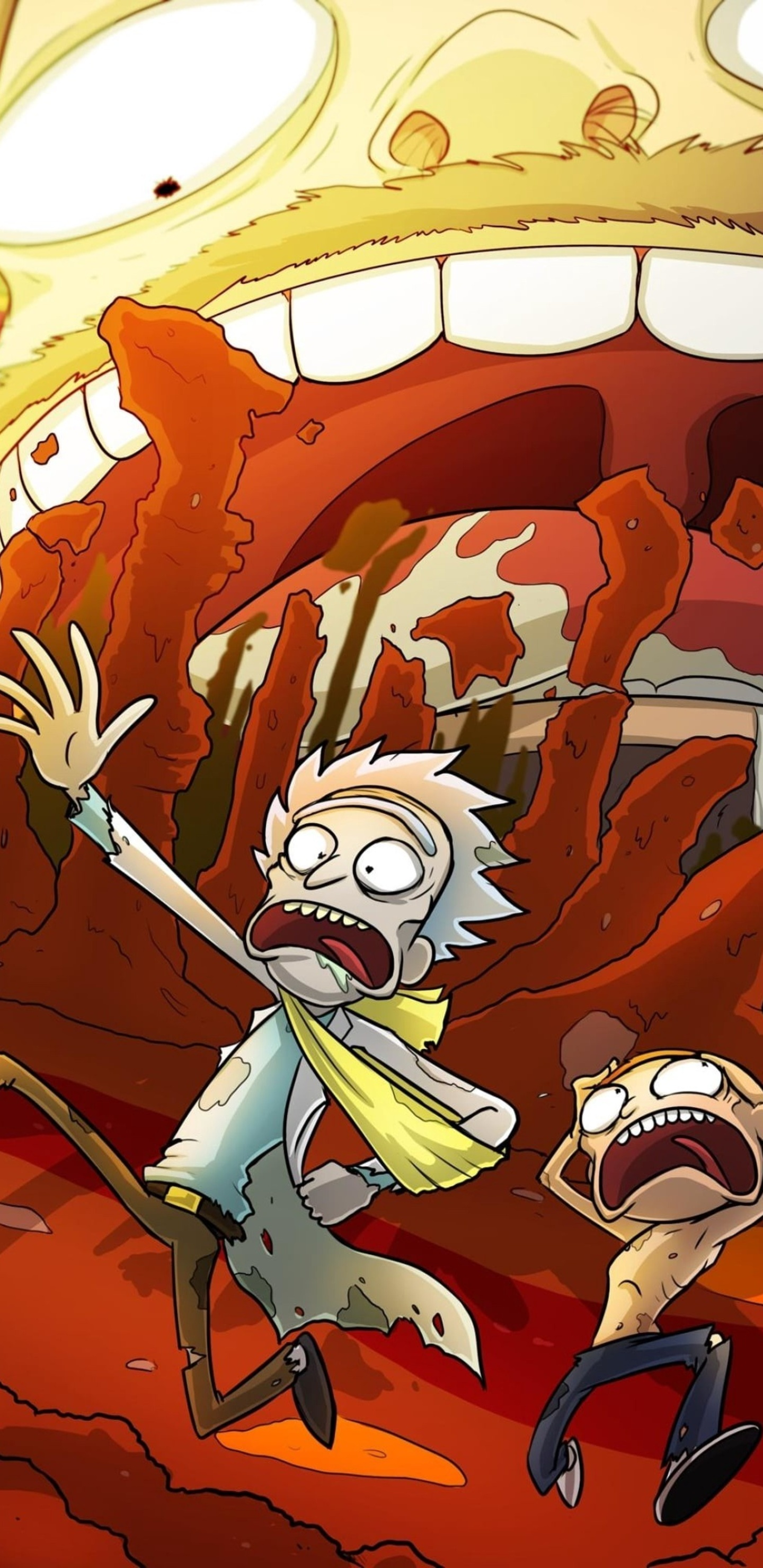 1440x2960 2020 Rick And Morty Samsung Galaxy Note 9,8, S9 ...