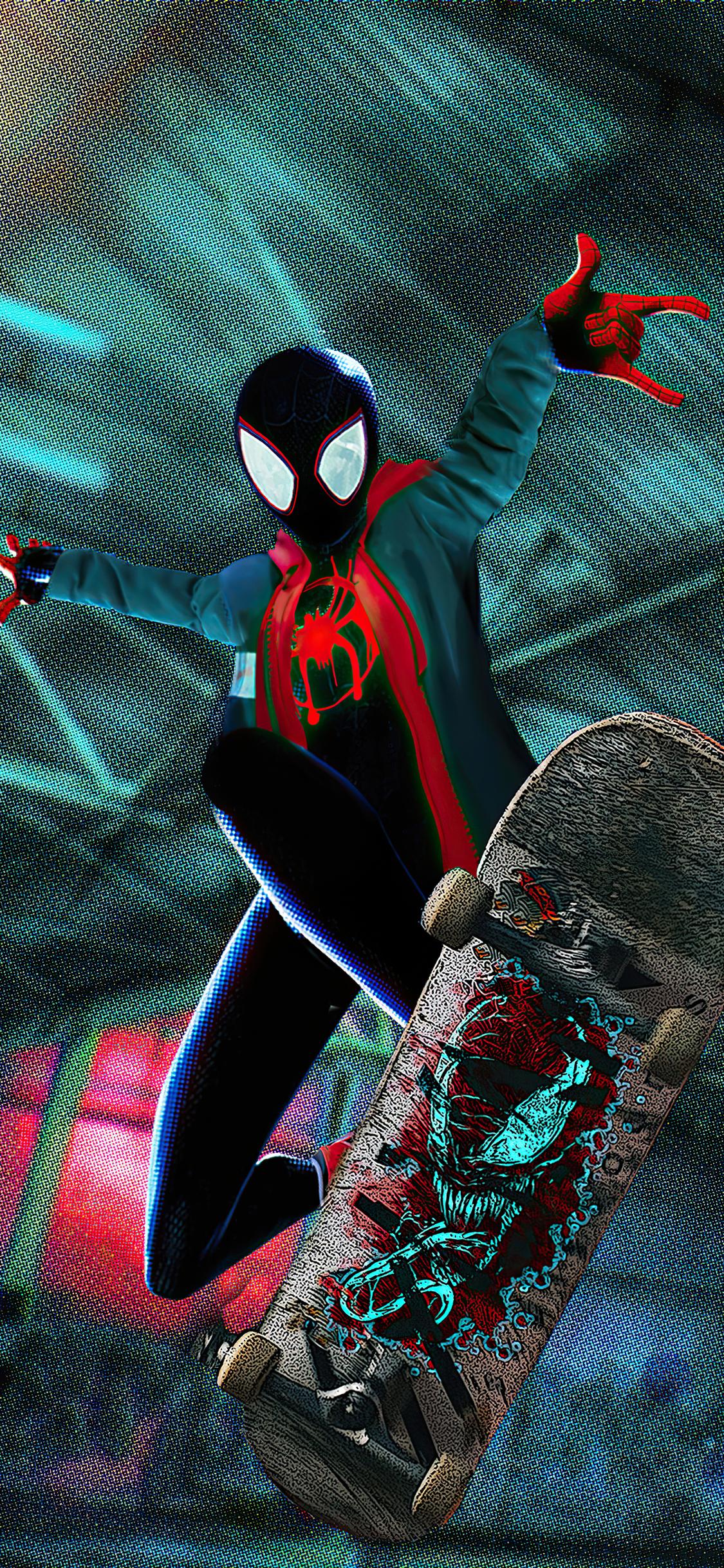 1125x2436 2020 Spider Man Miles 4k Iphone XS,Iphone 10 ...