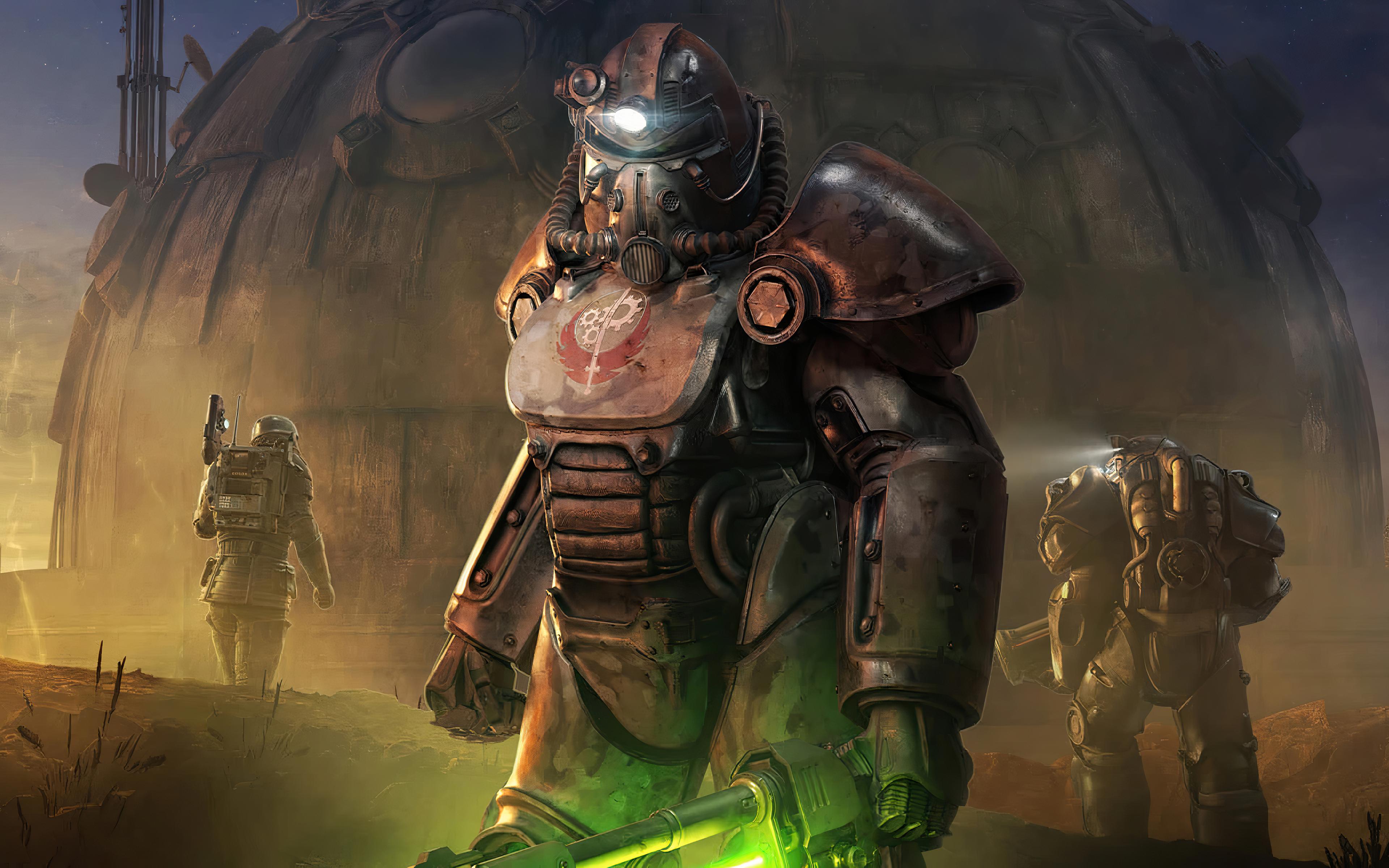 Fallout 76 Steel Dawn Rahmani Shin And Valdez Reveal Trailer 2 Valdez Trailer Dawn