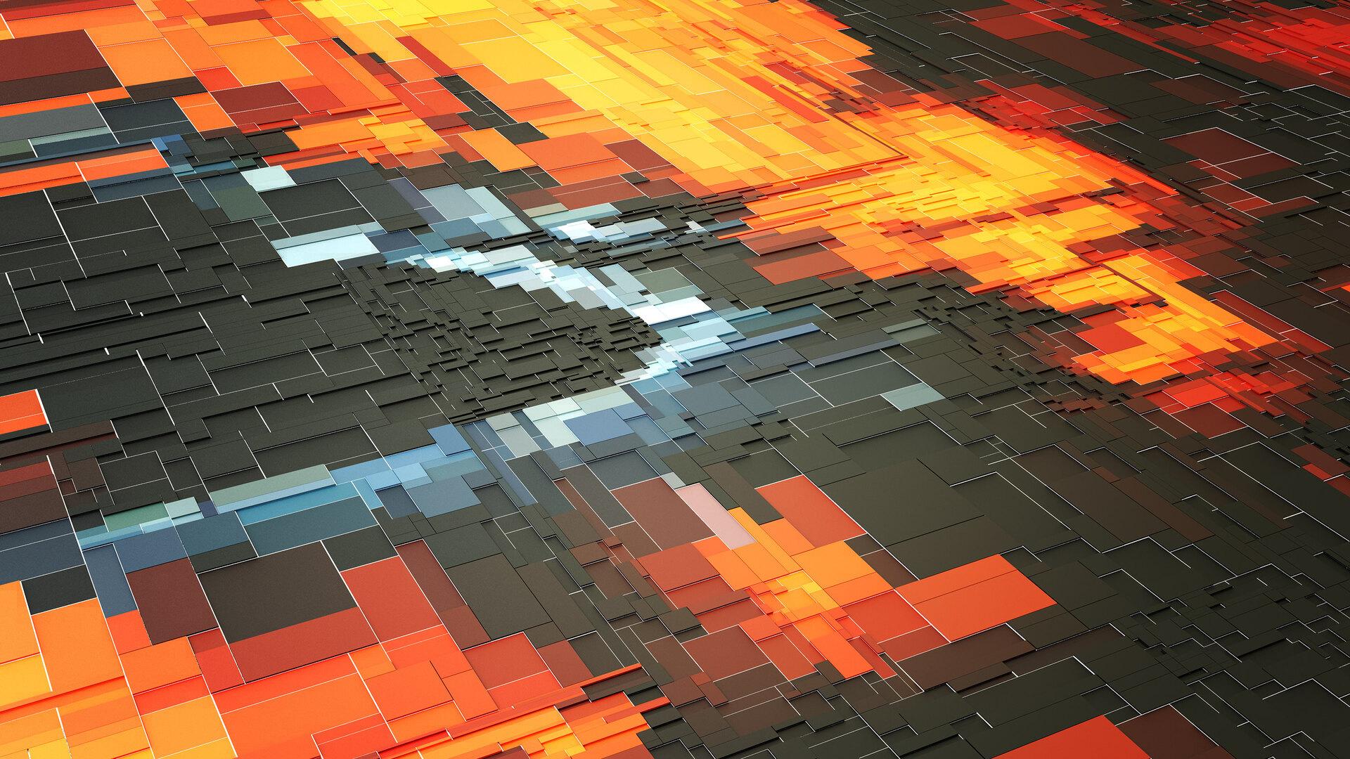 1920x1080 3d Digital Art Abstract ...