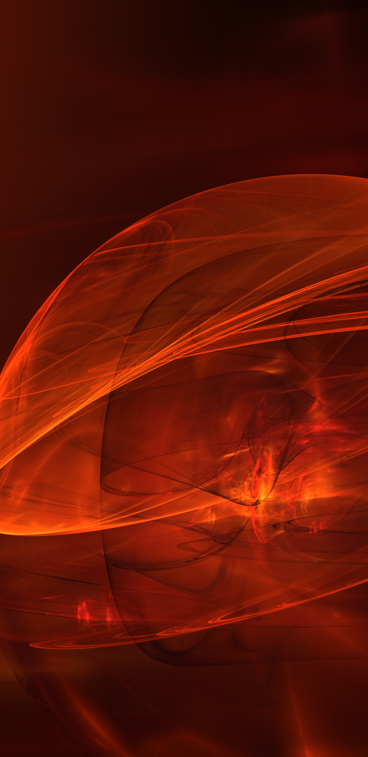 1440x2960 3d fractal abstract orange 4k samsung galaxy note 9 8 s9 s8 s8 qhd hd 4k wallpapers - 3d wallpaper for note 8 ...