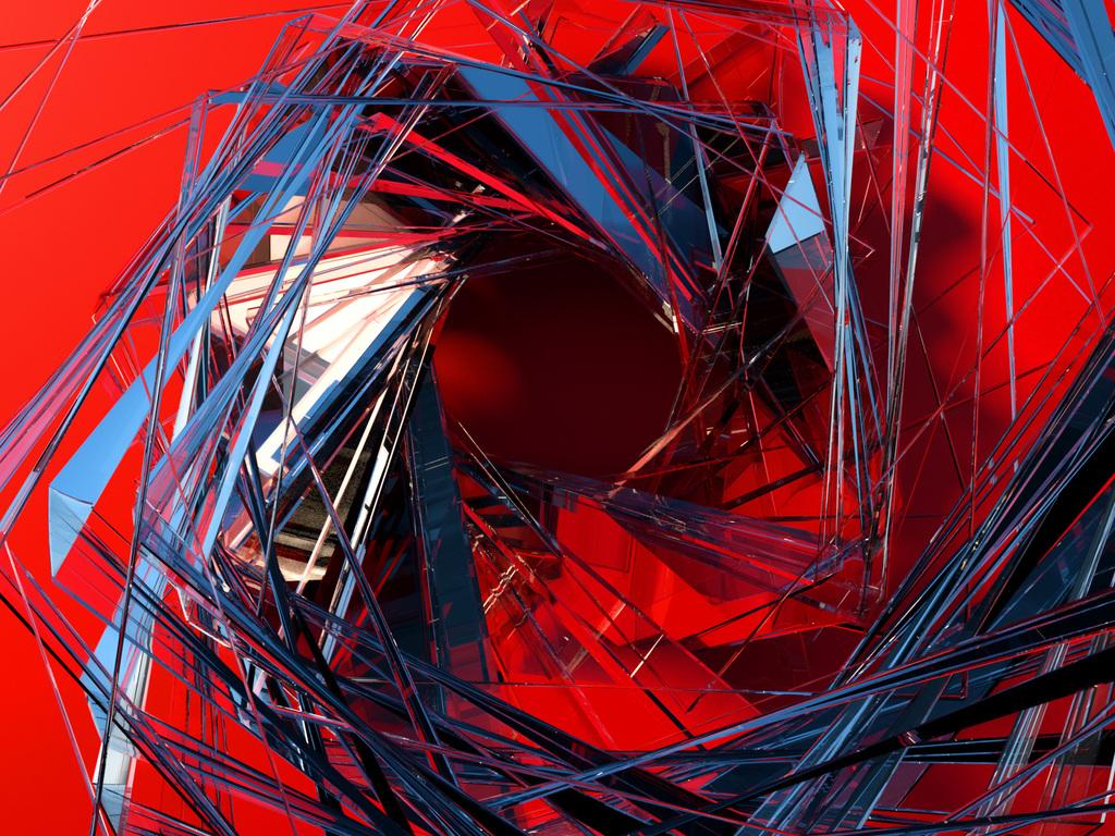 1024x768 3d Glass Abstract Art 1024x768 Resolution HD 4k ...