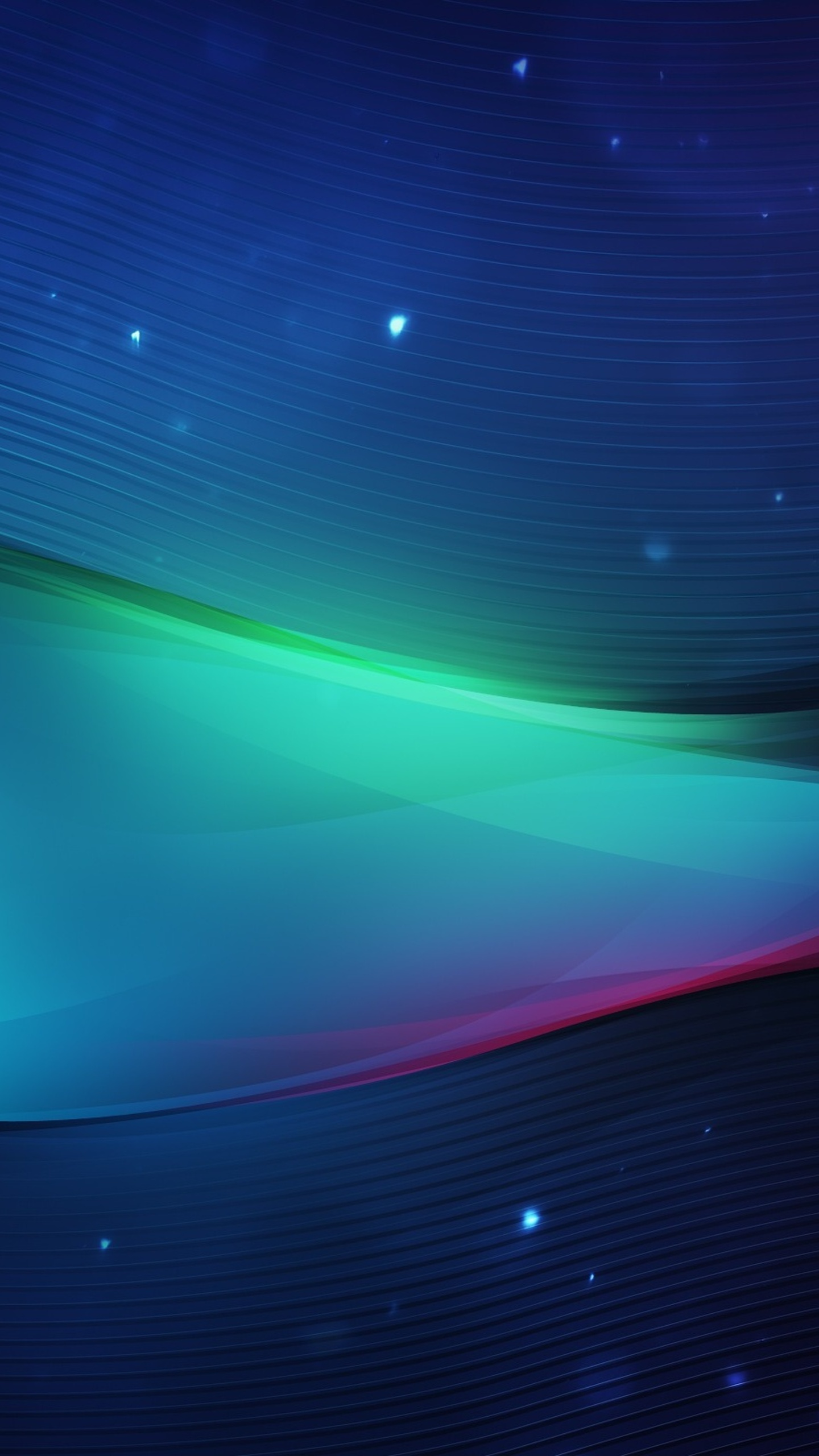 1440x2560 3d Waves Digital Samsung Galaxy S6s7 Google