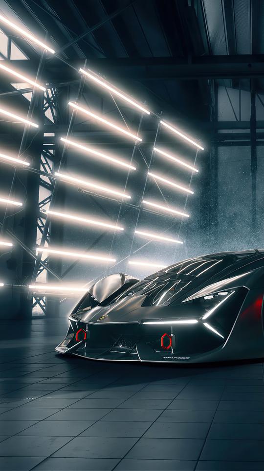540x960 4k 2020 Lamborghini Terzo Millennio 540x960 ...