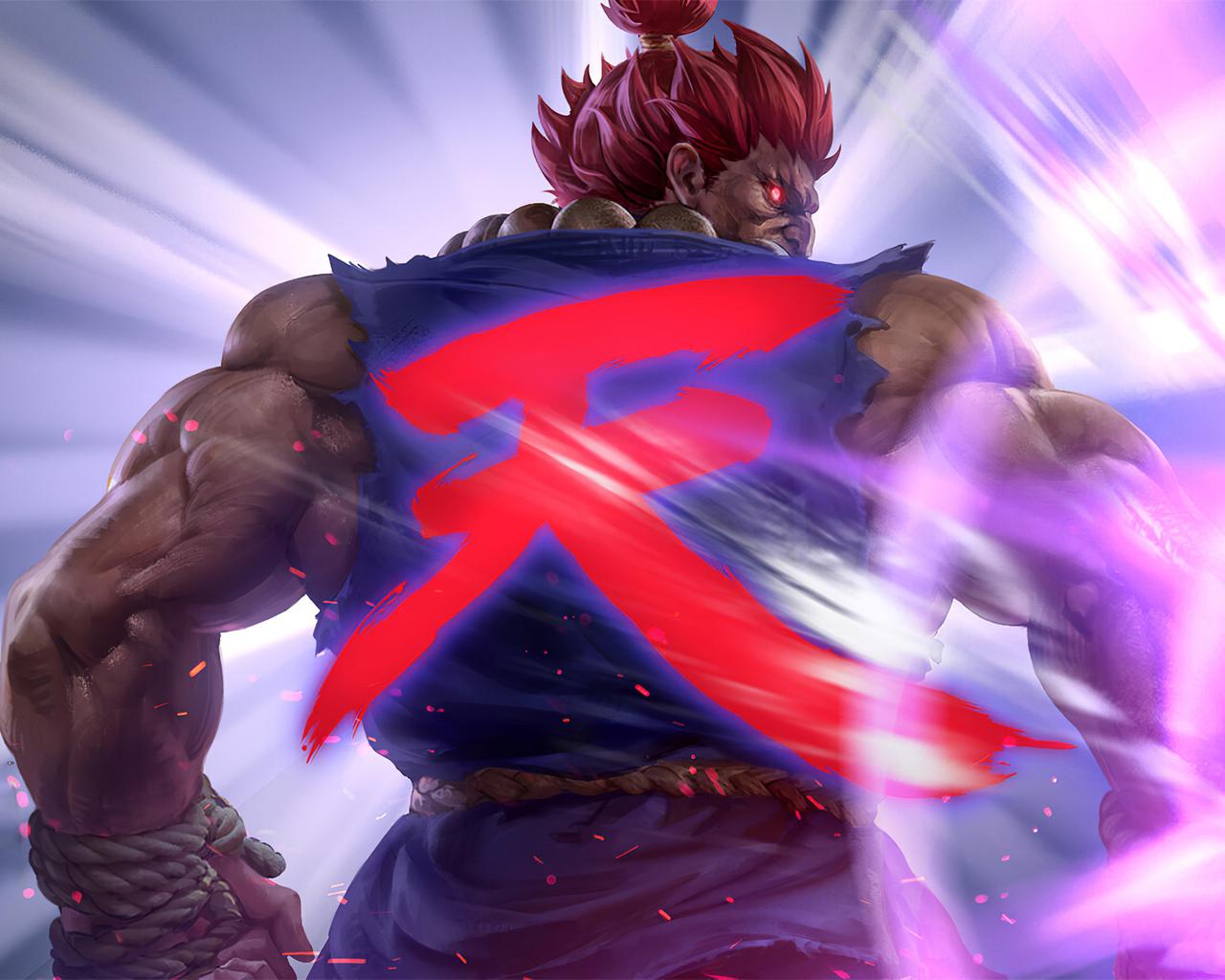 1280x1024 4k Artwork Akuma Street Fighter 1280x1024 ...