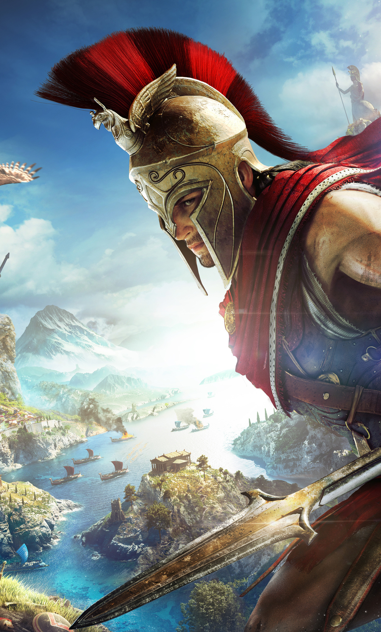 1280x2120 4k Assassins Creed Odyssey Iphone 6 Hd 4k Wallpapers