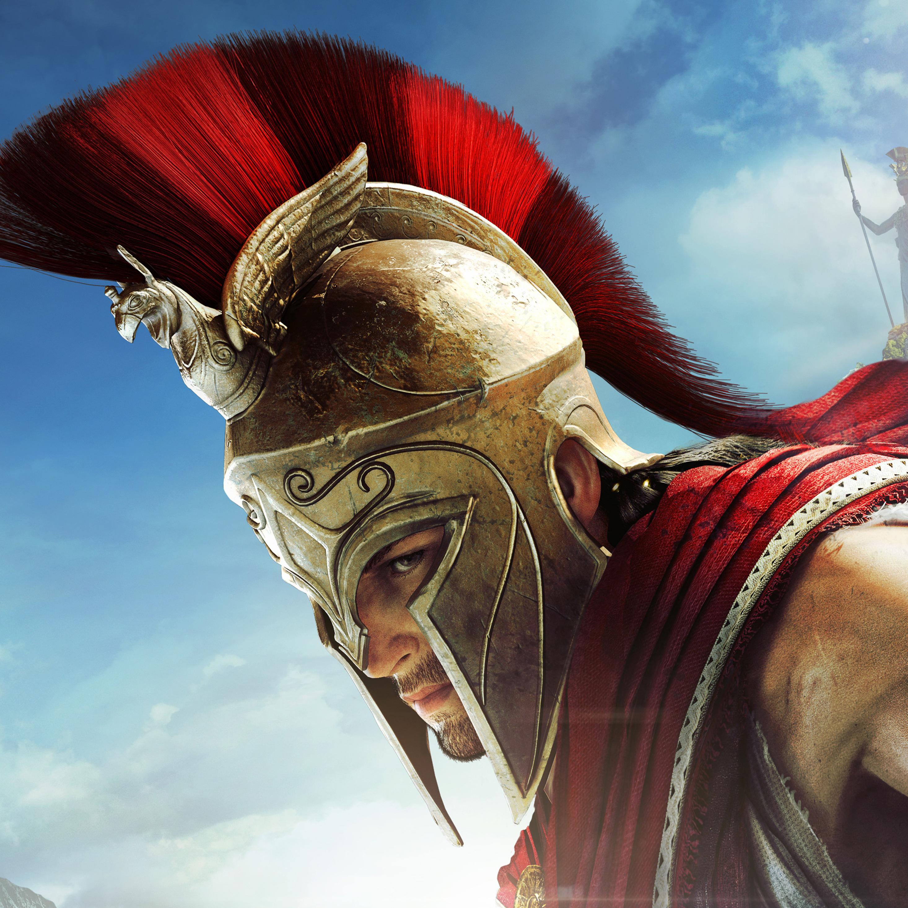 2932x2932 4k Assassins Creed Odyssey Ipad Pro Retina Display Hd 4k