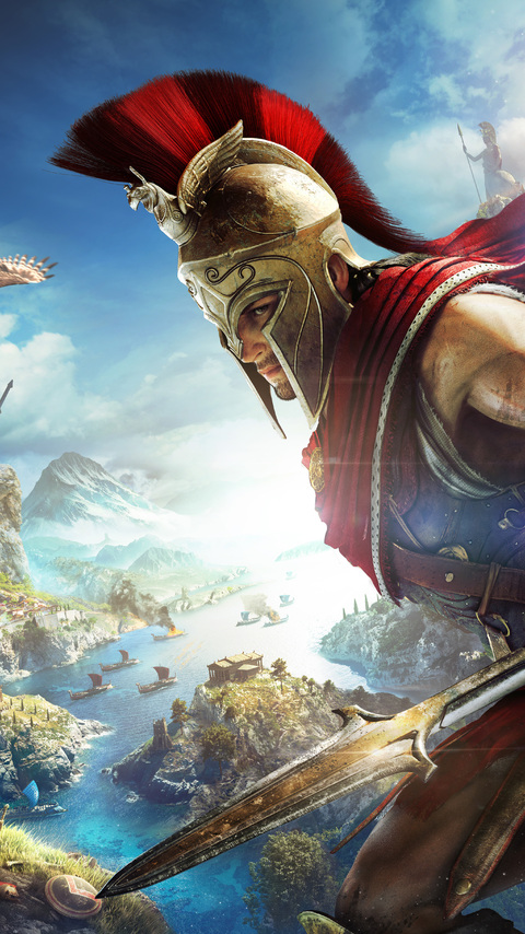 480x854 4k Assassins Creed Odyssey Android One Hd 4k Wallpapers