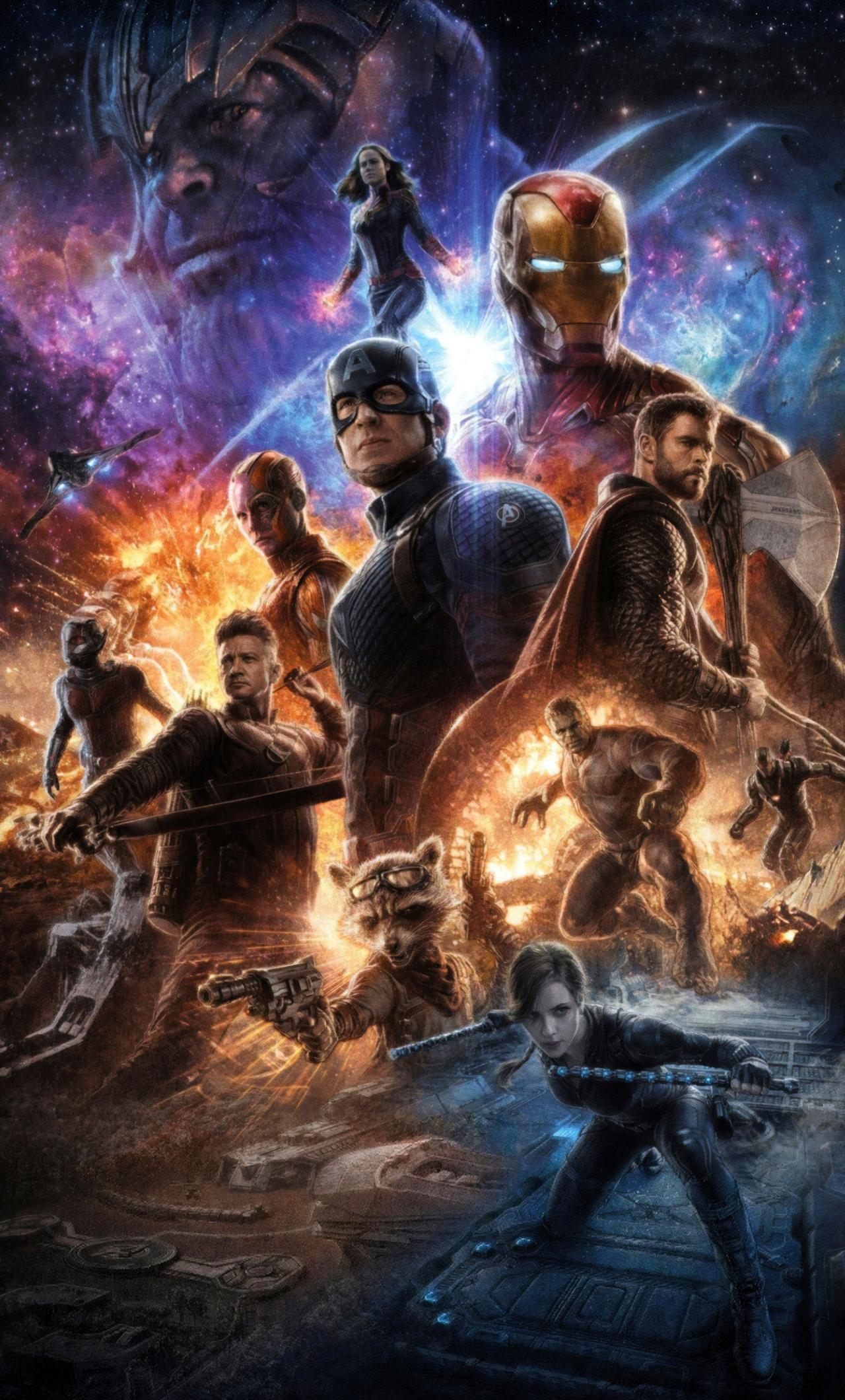 1280x2120 4k Avengers Endgame iPhone 6+ HD 4k Wallpapers ...