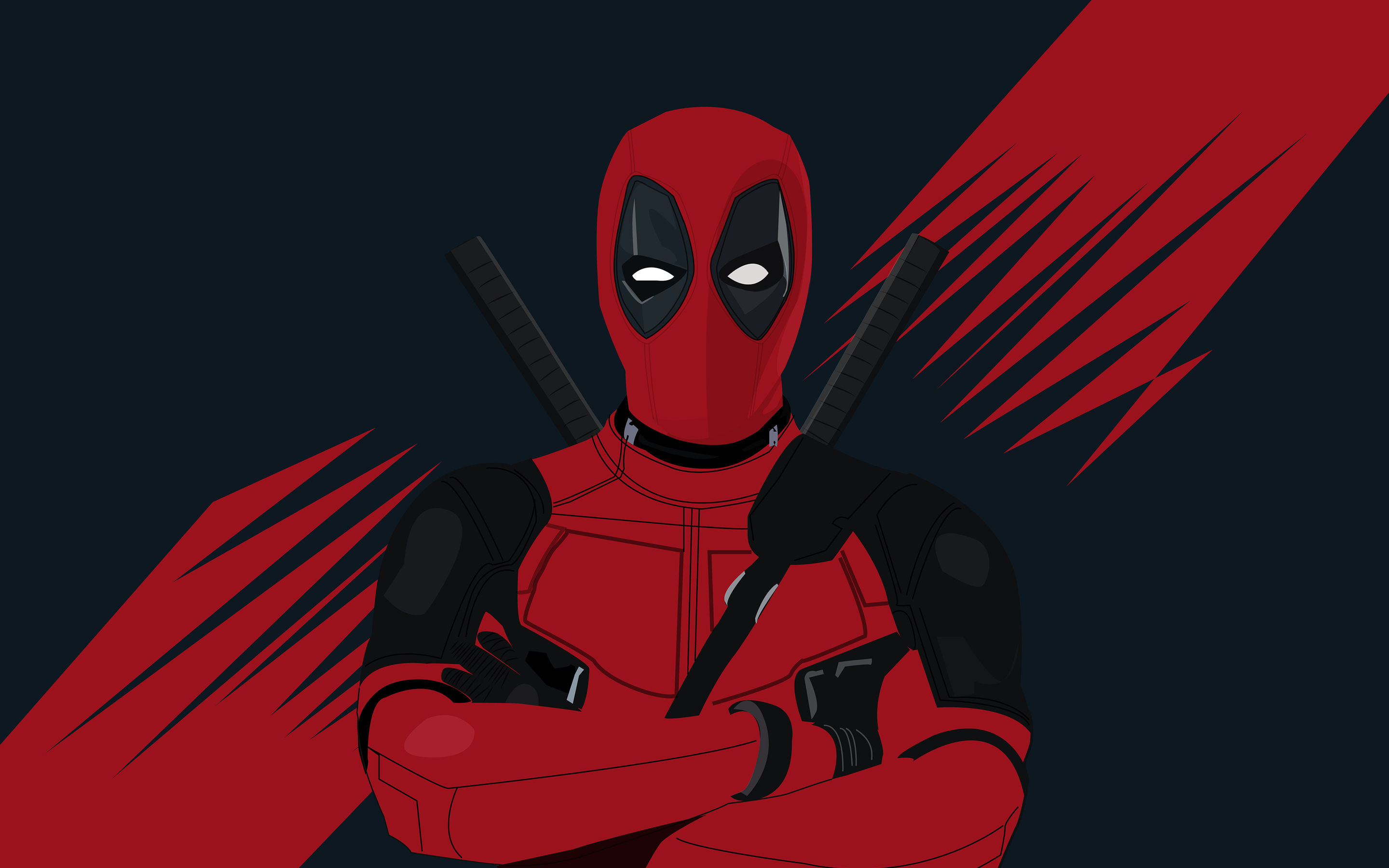 2880x1800 4k Deadpool Minimal 2019 Macbook Pro Retina HD ...
