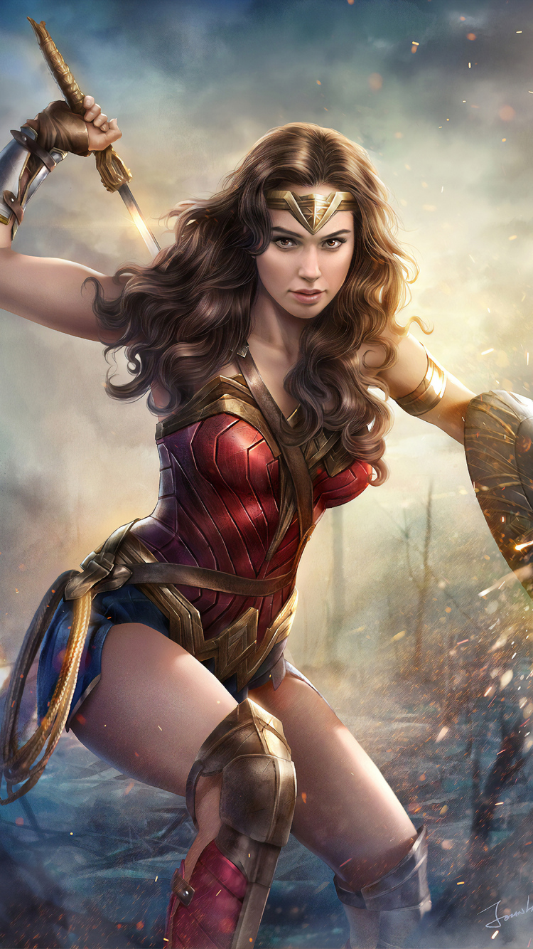 750x1334 4k Gal Gadot Wonder Woman Iphone 6 Iphone 6s