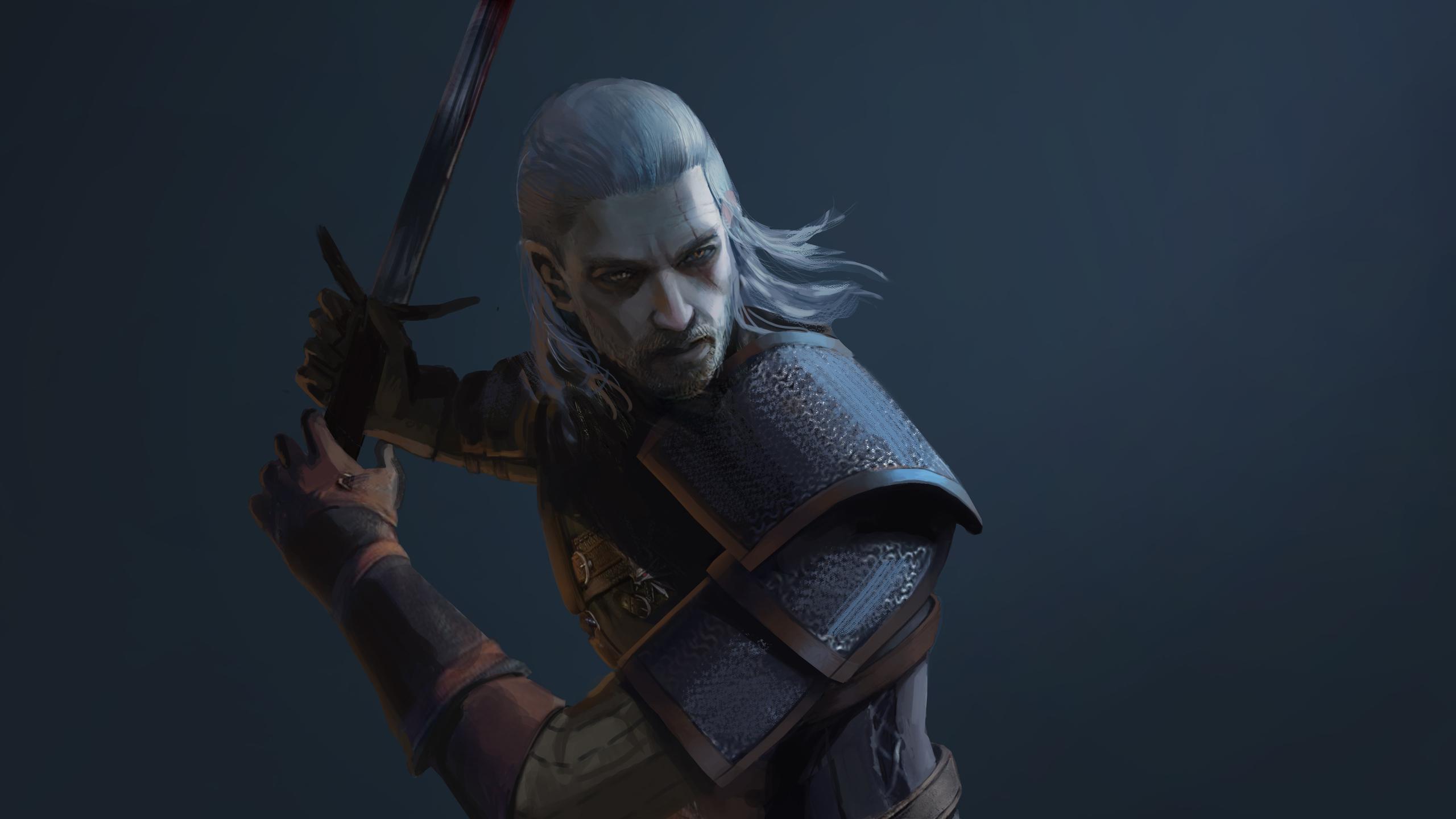 2560x1440 4k Geralt Of Rivia 1440p Resolution Hd 4k