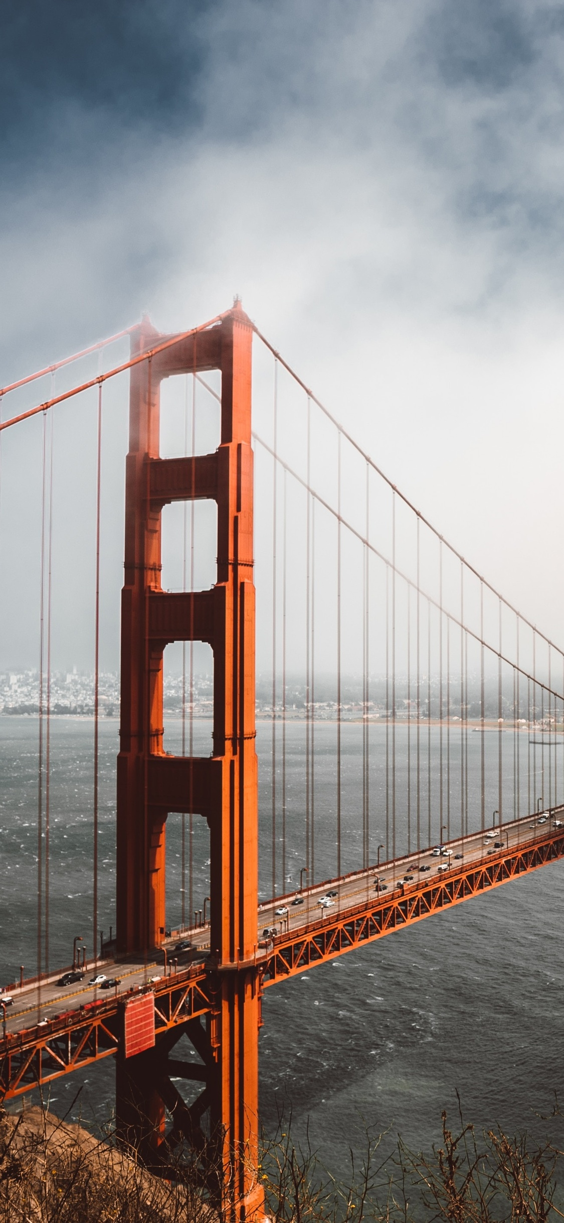 1125x2436 4k Golden Gate Bridge Iphone Xs Iphone 10 Iphone X Hd 4k
