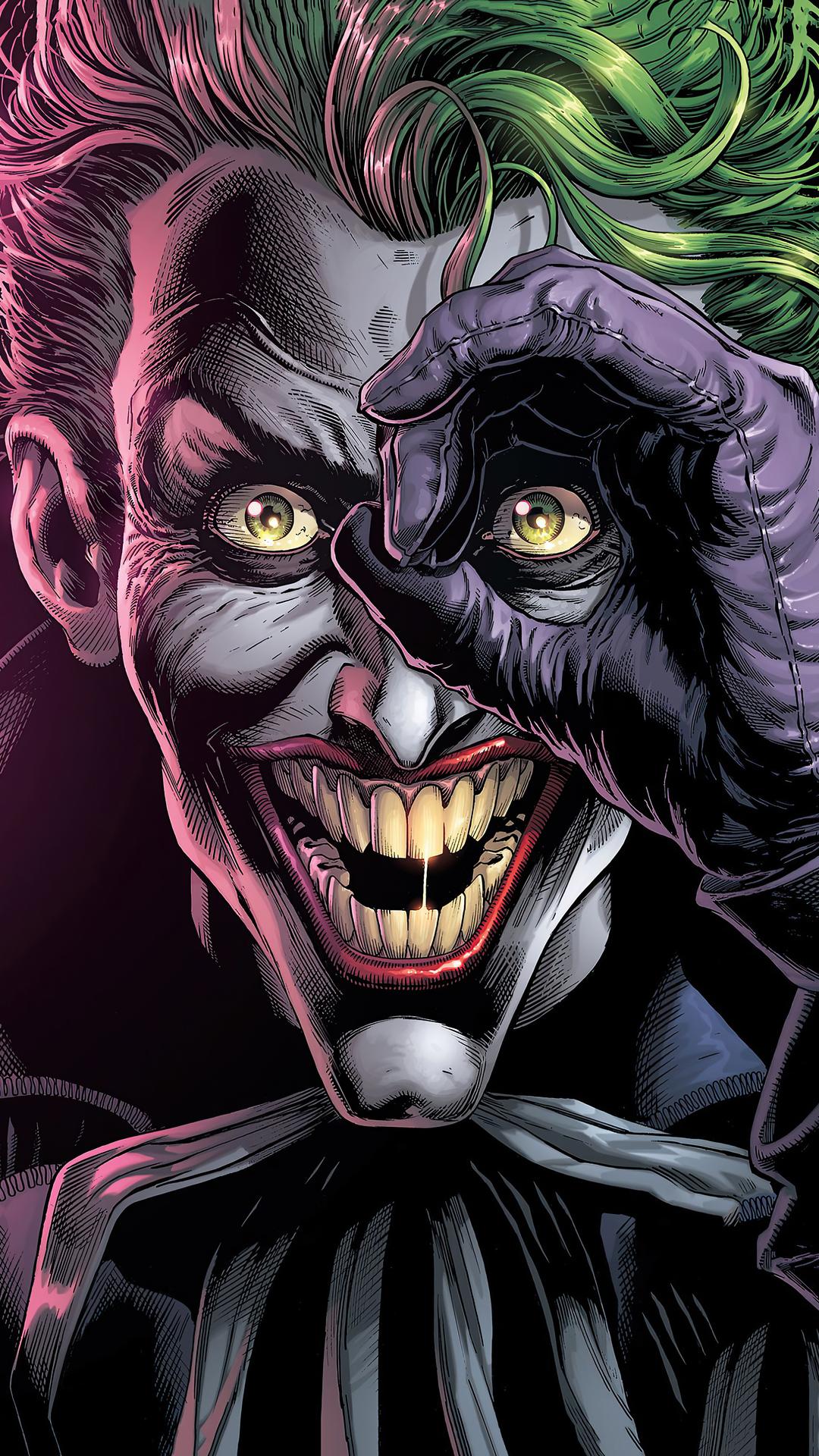 1080x1920 4k Joker Danger Laugh Iphone 7,6s,6 Plus, Pixel ...
