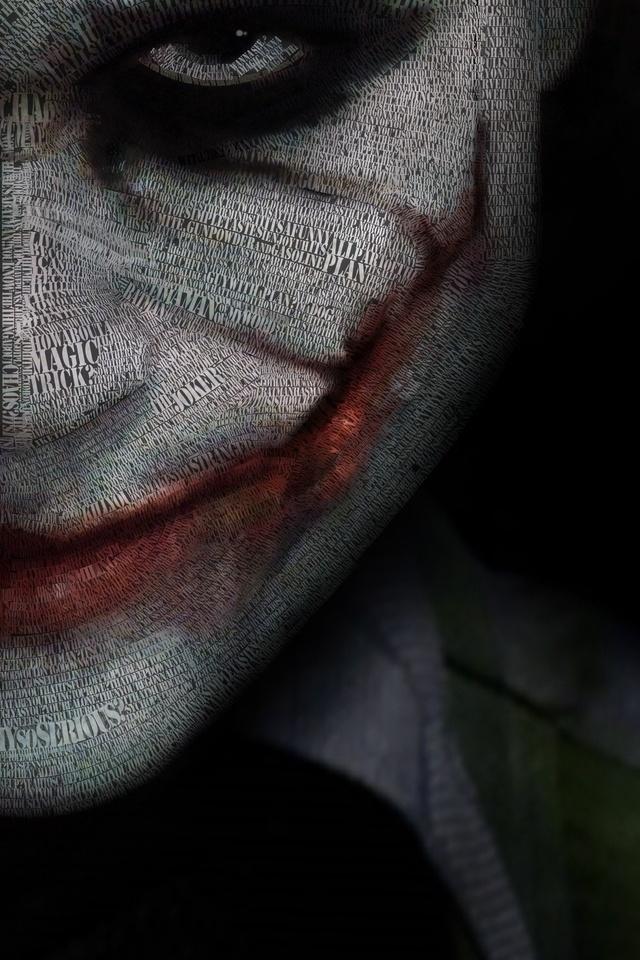 640x960 4k Joker IPhone 4 4S HD Wallpapers Images
