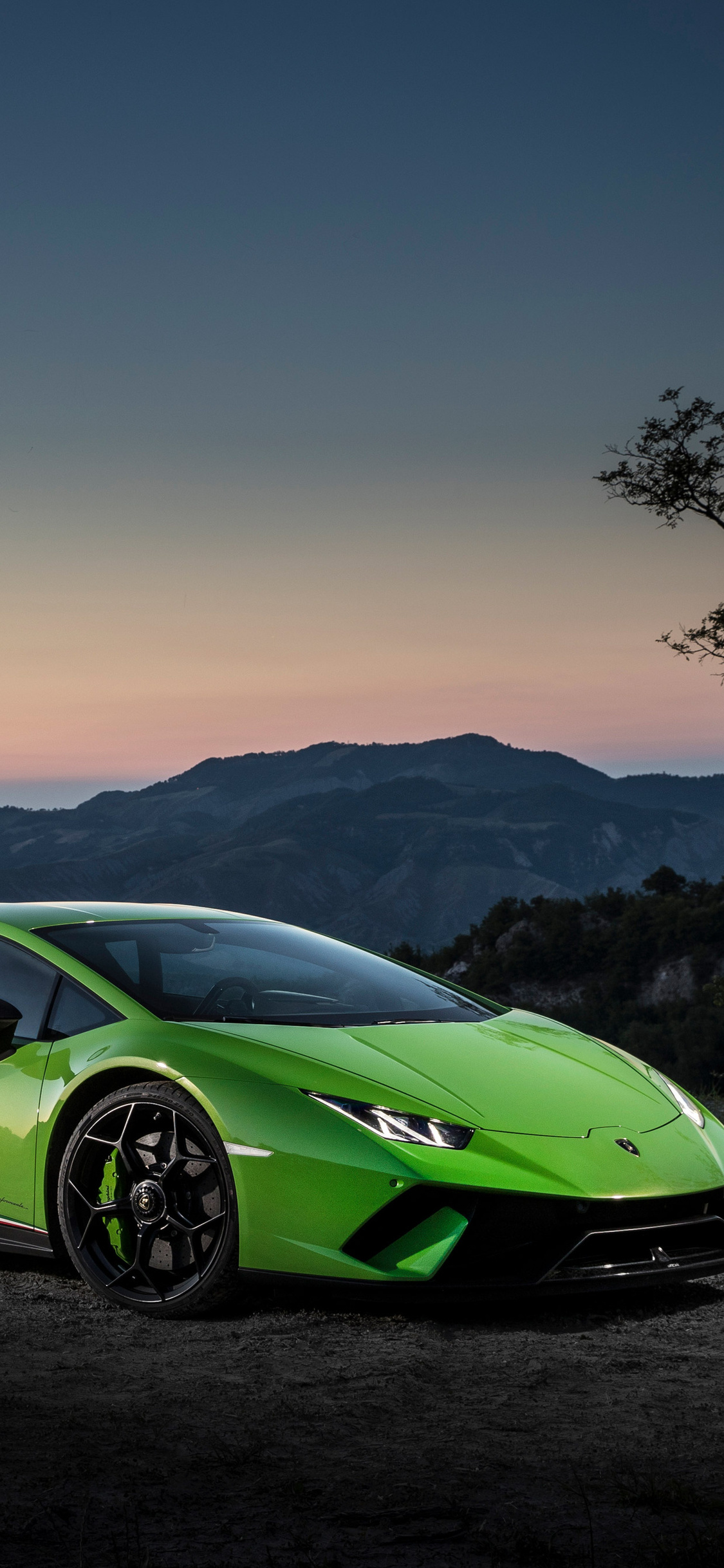 1125x2436 4k Lamborghini Huracan Performante Iphone Xs