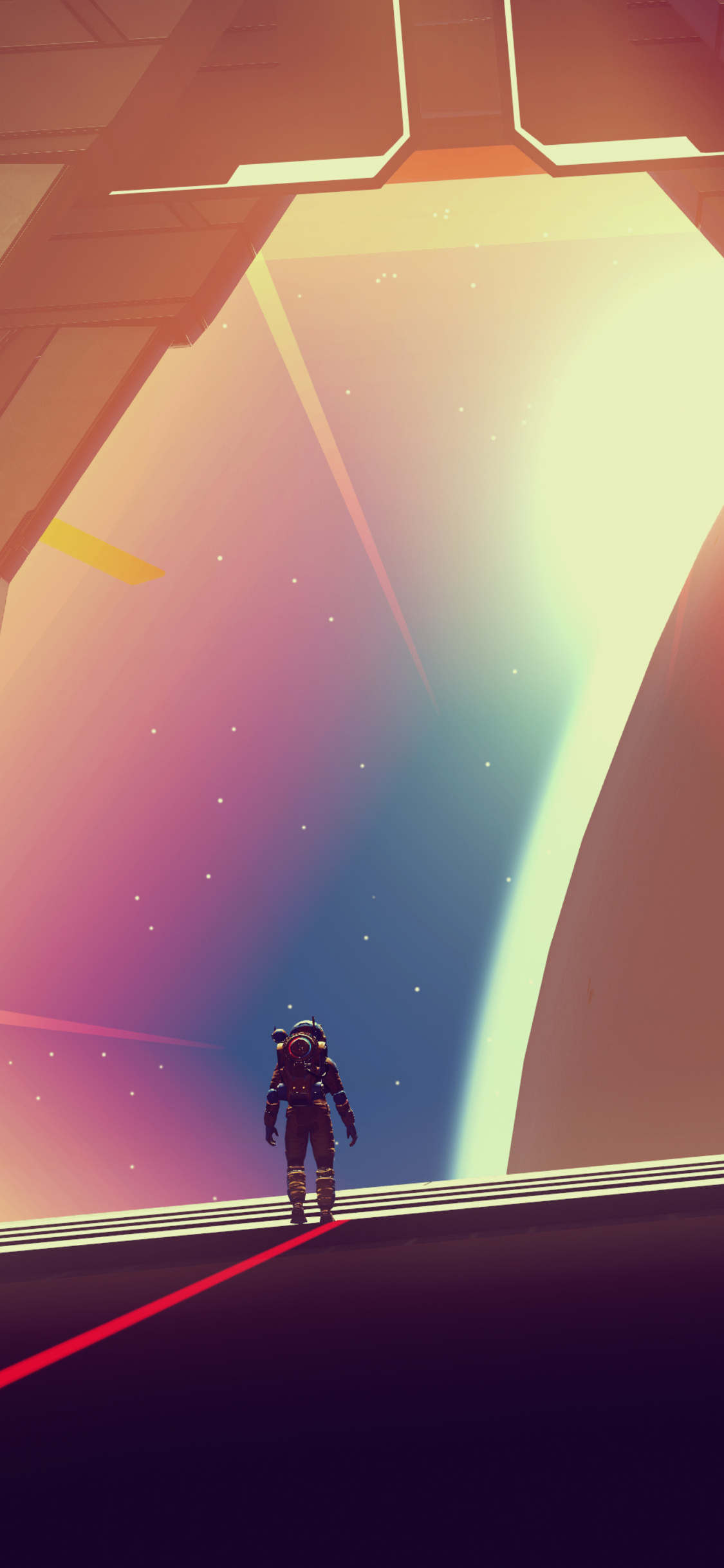 1125x2436 4k No Mans Sky Video Game Iphone Xs Iphone 10