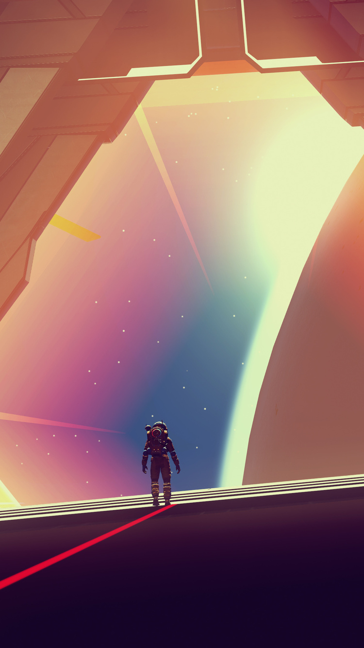 750x1334 4k No Mans Sky Video Game Iphone 6 Iphone 6s Iphone 7