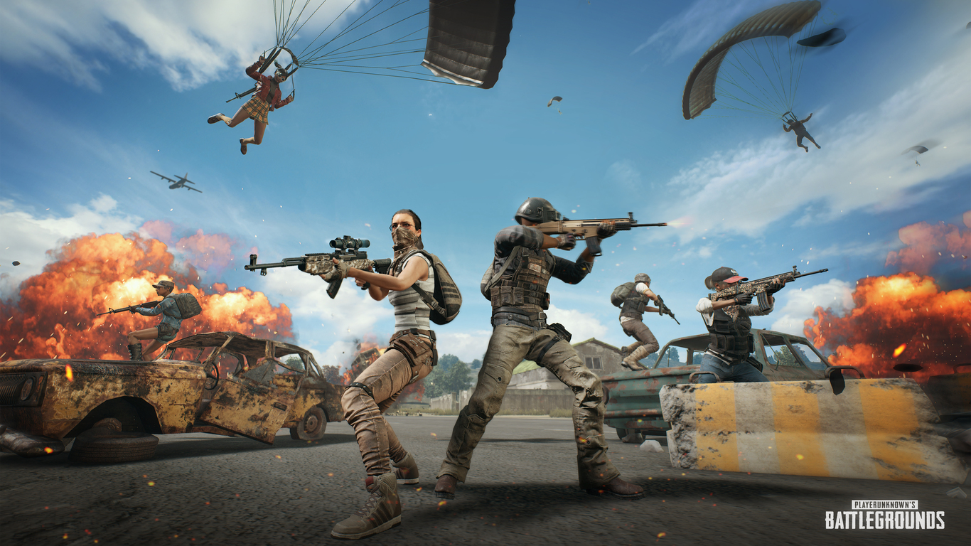 Pubg Wallpaper Themes: 1366x768 4k PlayerUnknowns Battlegrounds 2018 1366x768
