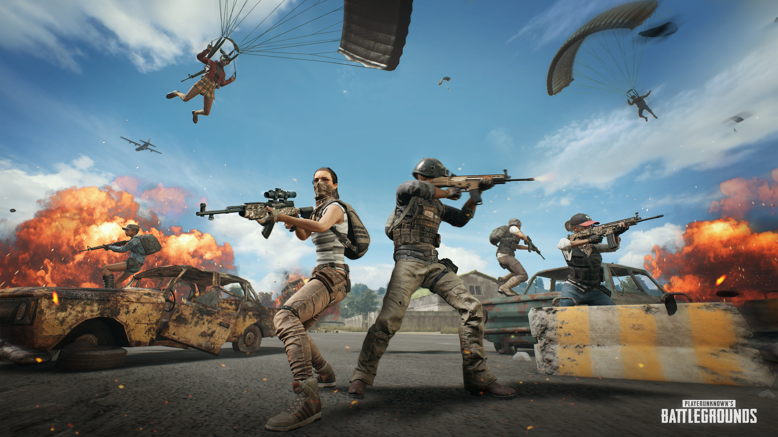 Playerunknown S Battlegrounds Wallpapers: 2560x1440 4k PlayerUnknowns Battlegrounds 2018 1440P