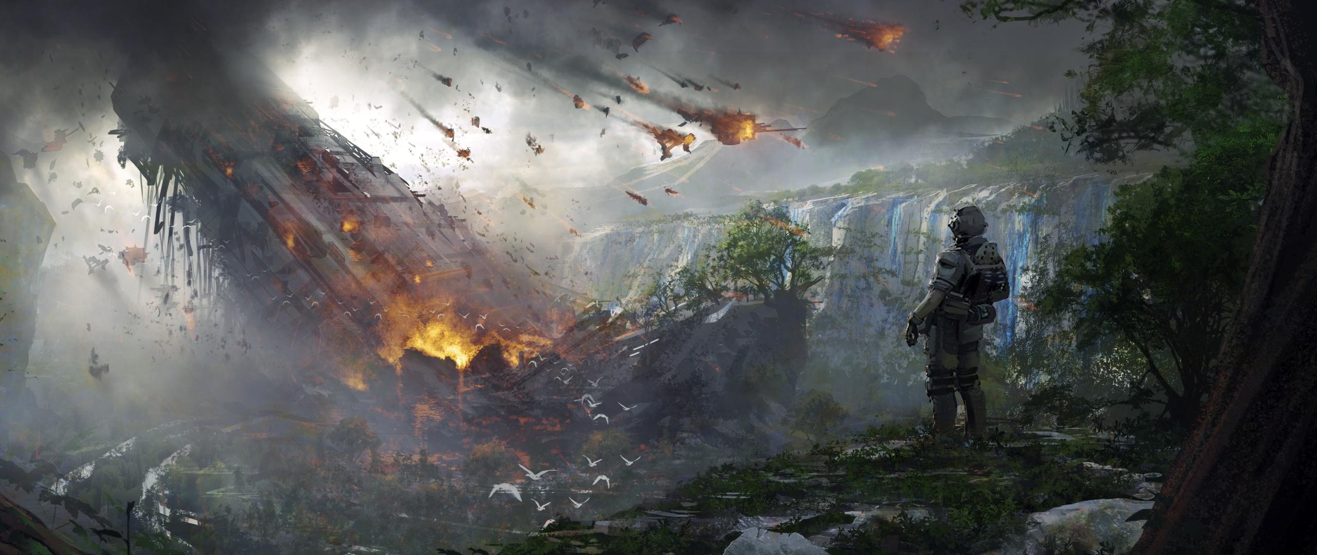 2560x1080 4k Soldier Titanfall 2 Artwork 2560x1080 ...