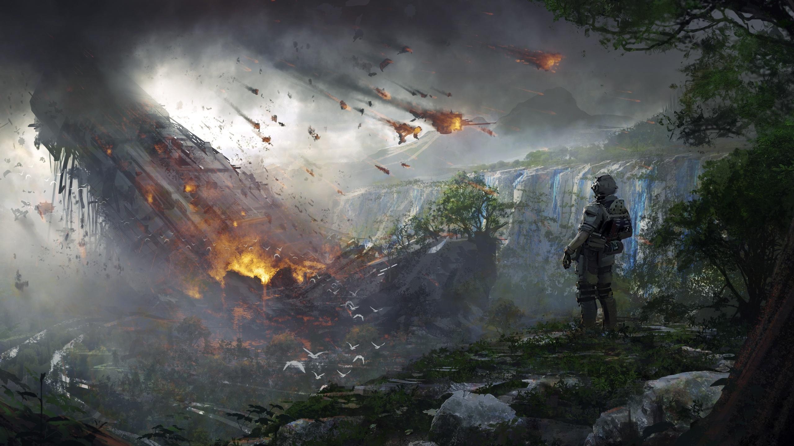 4k Soldier Titanfall 2 Artwork Bc
