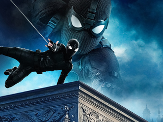 320x240 4k Spider Man Far From Home Apple Iphone,iPod Touch,Galaxy