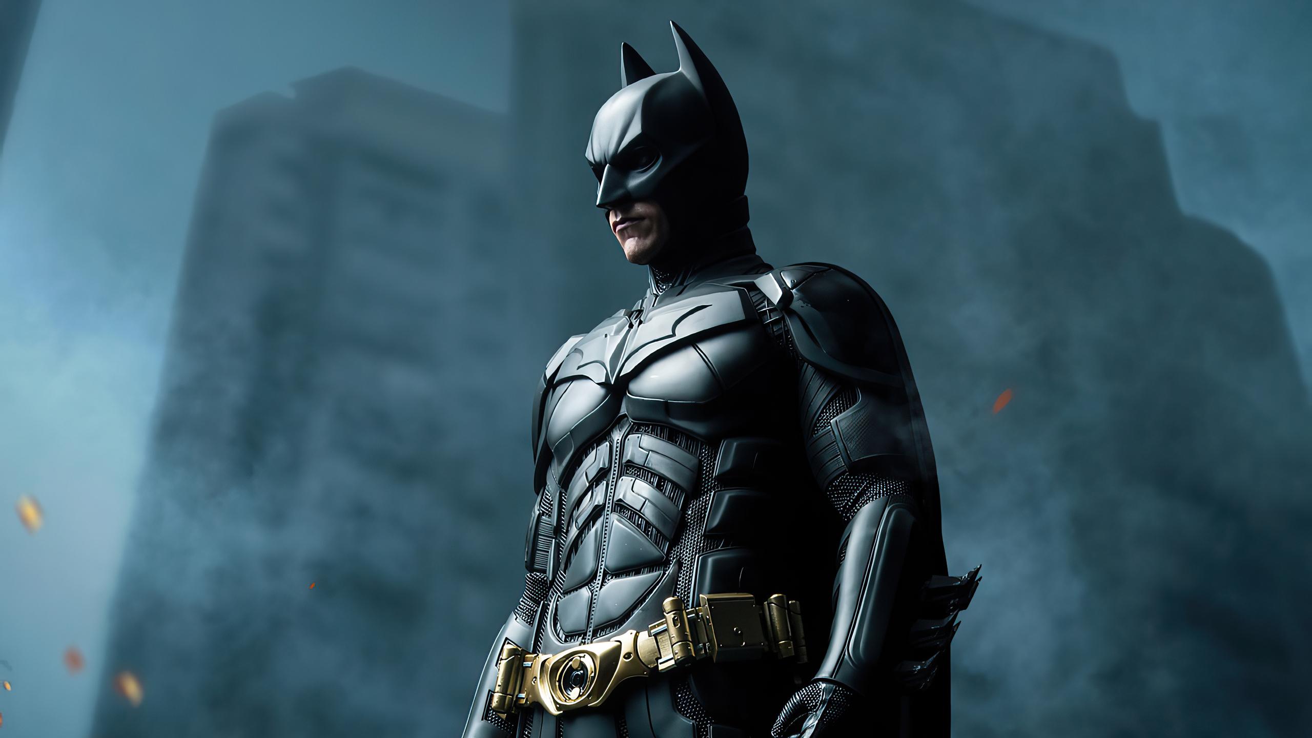 2560x1440 4k The Batman Knight 1440P Resolution HD 4k ...