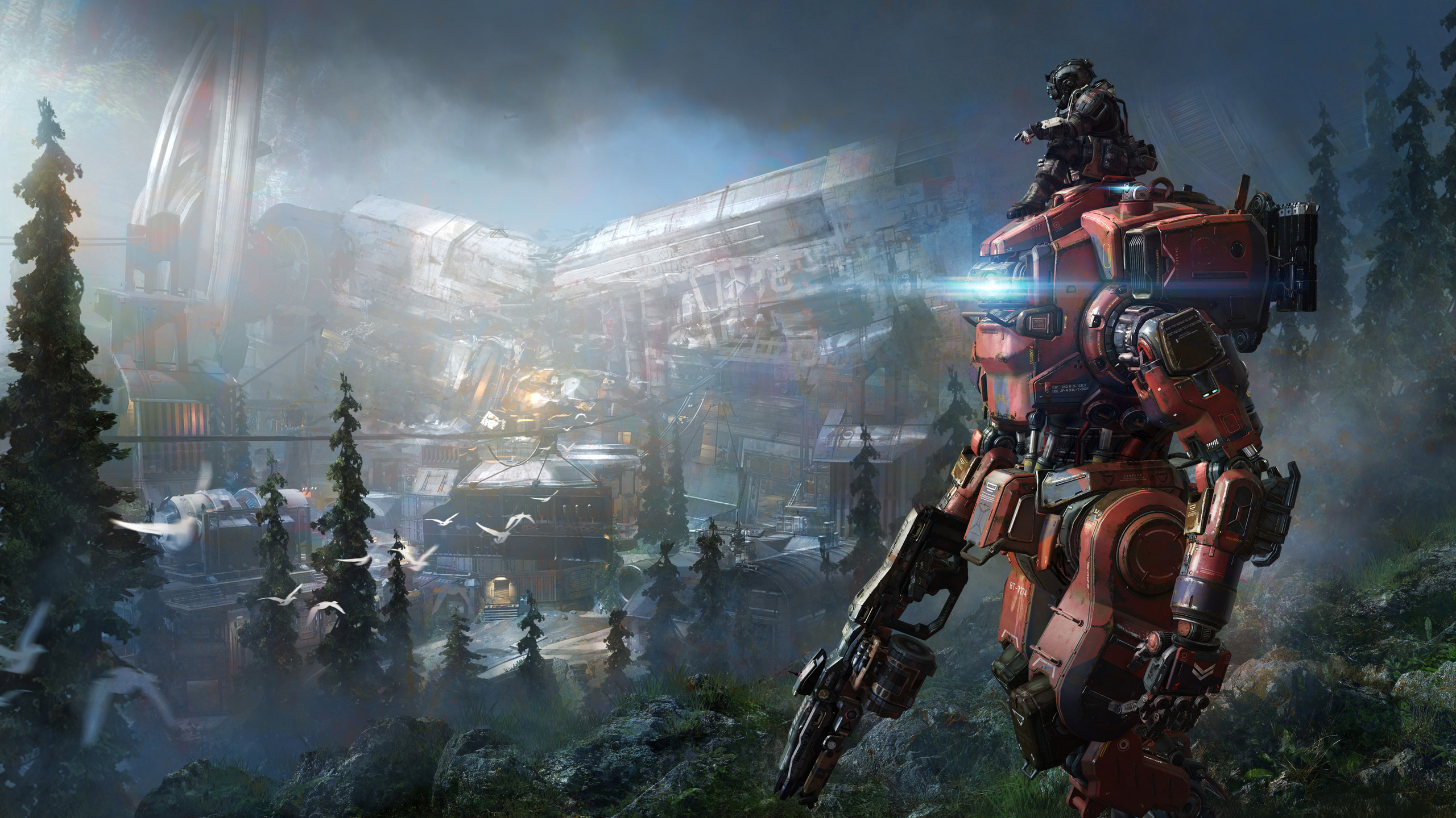 titanfall 2 wallpaper  2560x1440 4k Titanfall 2 2017 1440P Resolution HD 4k Wallpapers ...