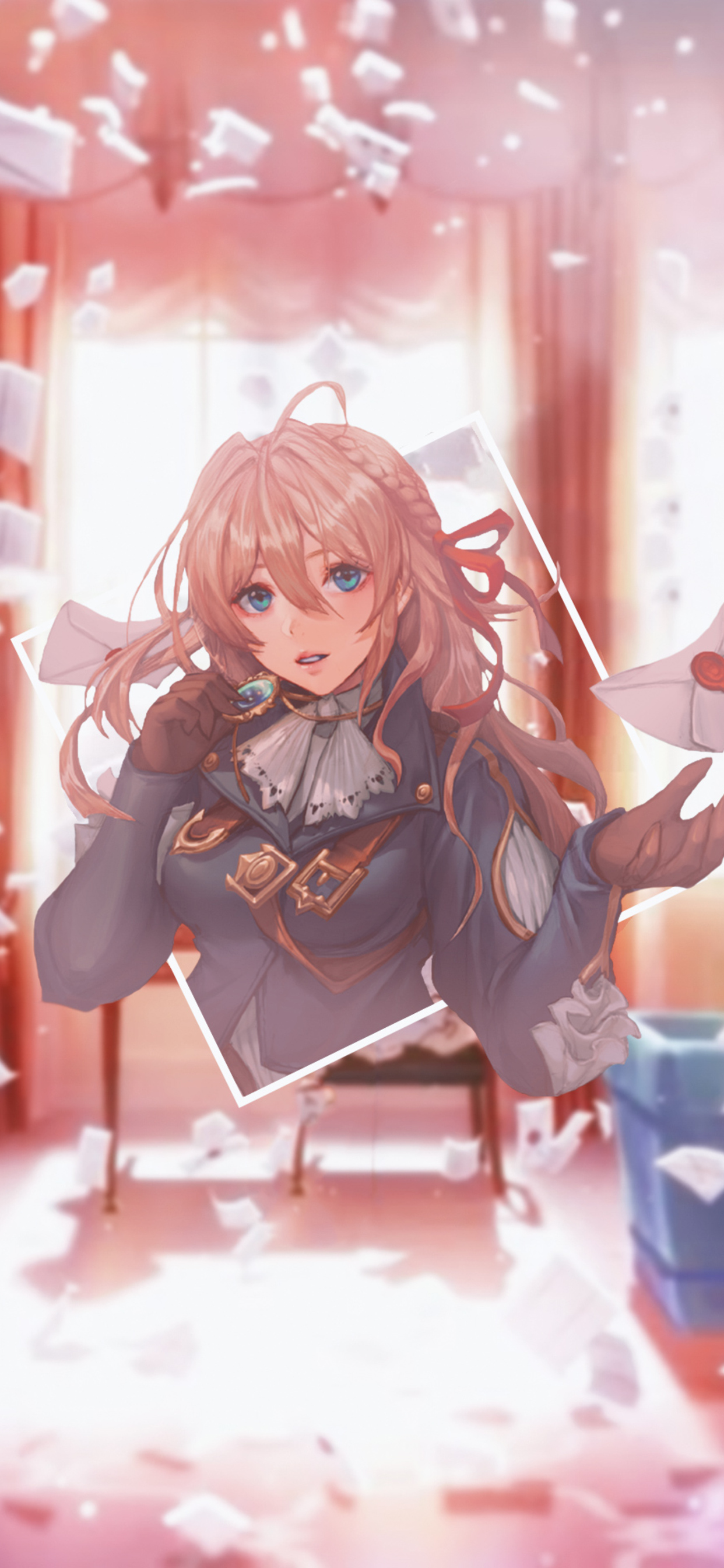 1242x2688 4k Violet Evergarden Anime Iphone Xs Max Hd 4k Wallpapers
