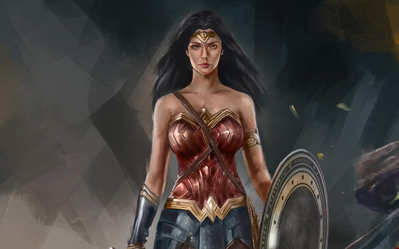 2880x1800 4k Wonder Woman Artworks Macbook Pro Retina Hd 4k