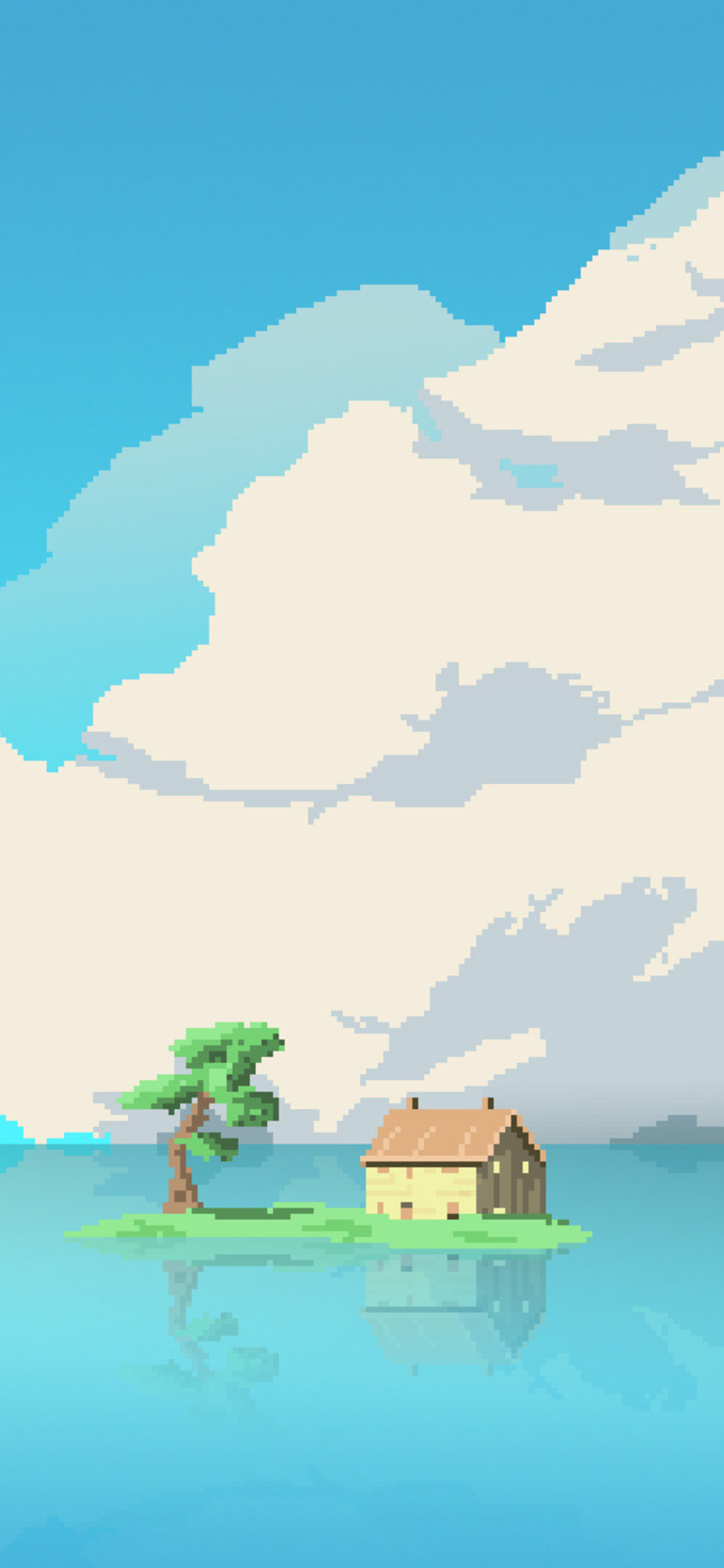 8-bit-artwork-house-island-in-middle-of-
