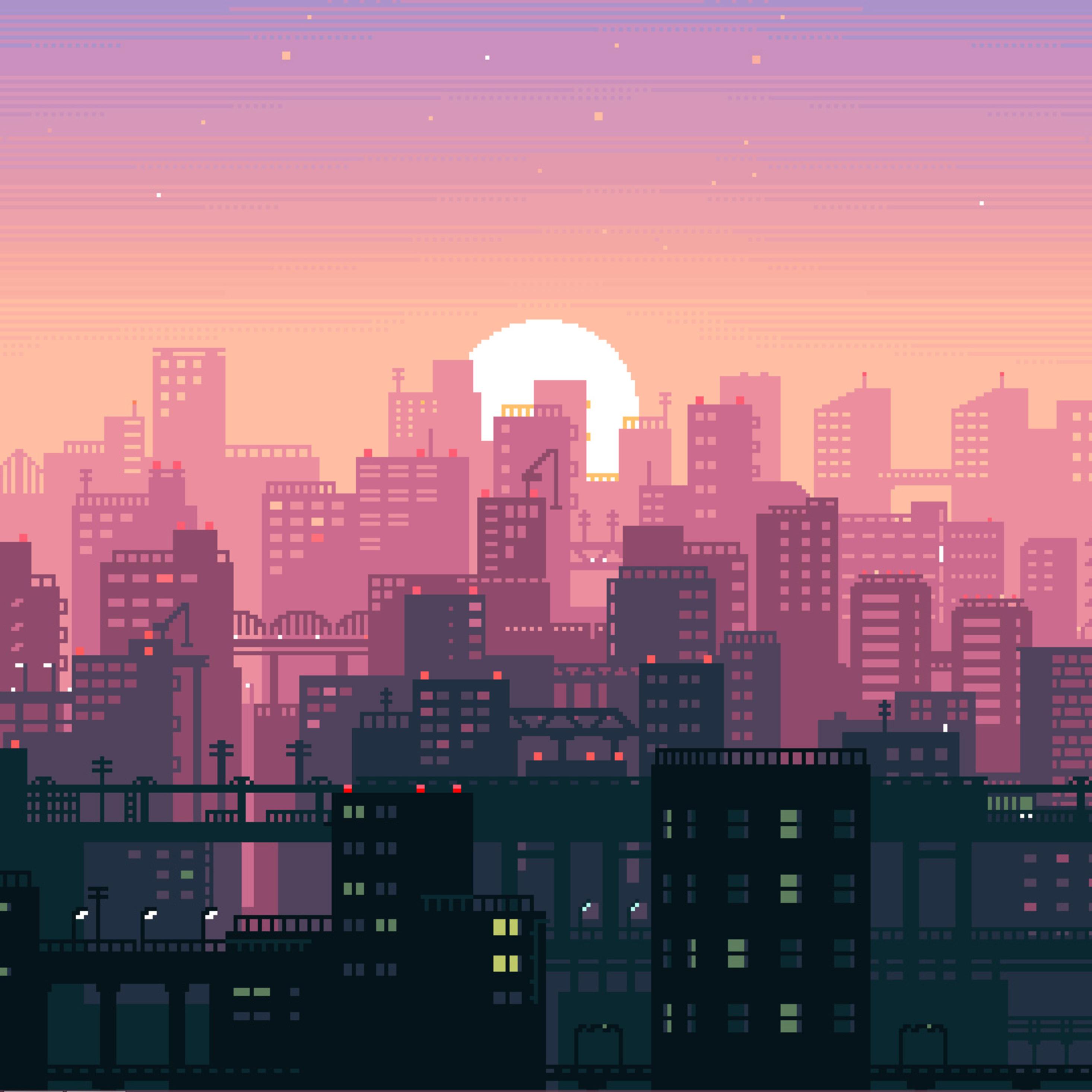background modern pixel wallpaper - photo #5