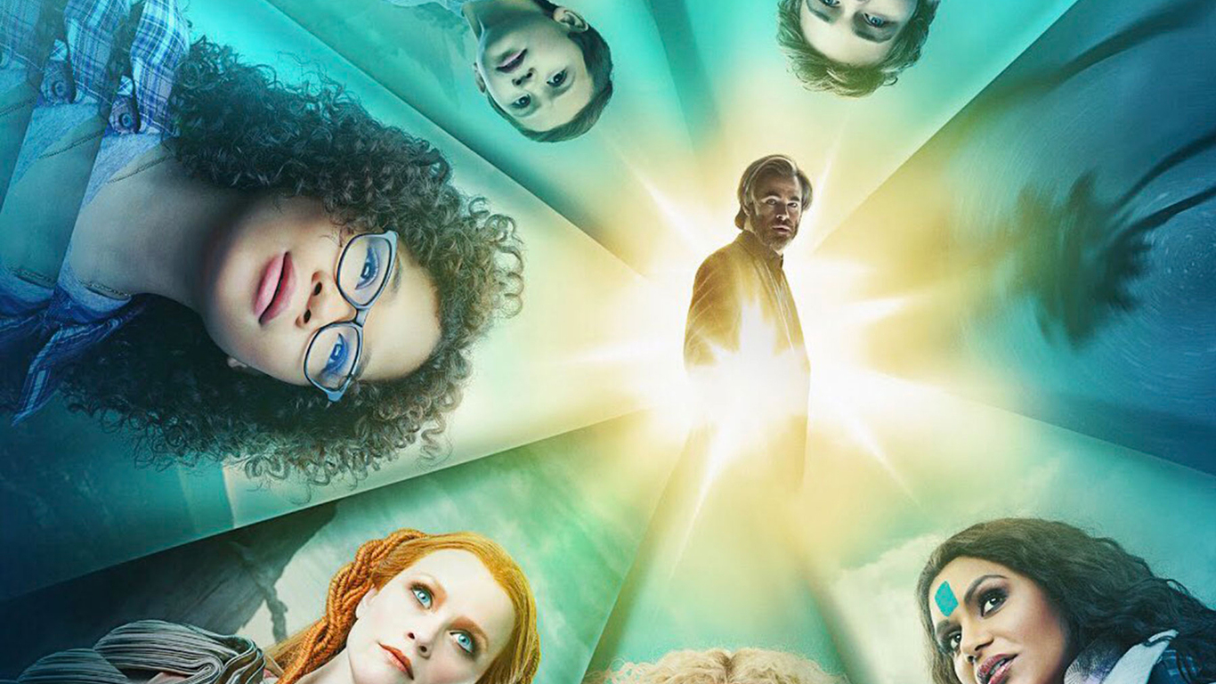 wrinkle in time After the disappearance of her scientist father, three peculiar beings send meg, her brother, and her friend to space in order to find him.