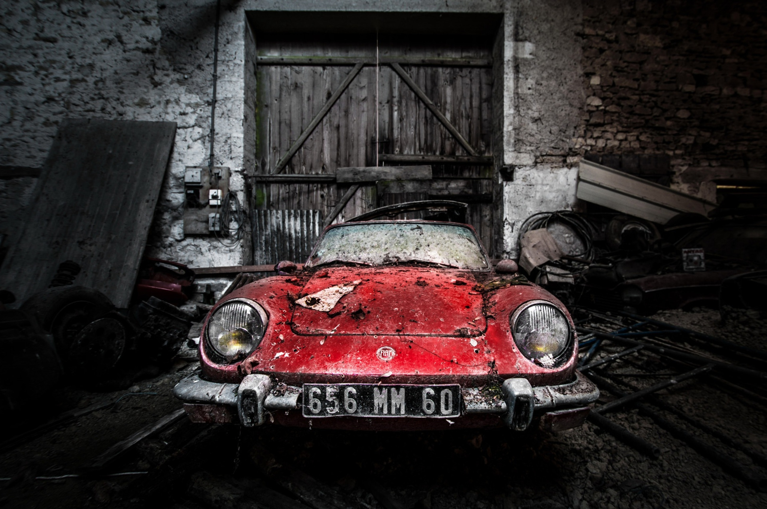 2560x1700 Abandoned Old Rusty Car Chromebook Pixel HD 4k Wallpapers ...