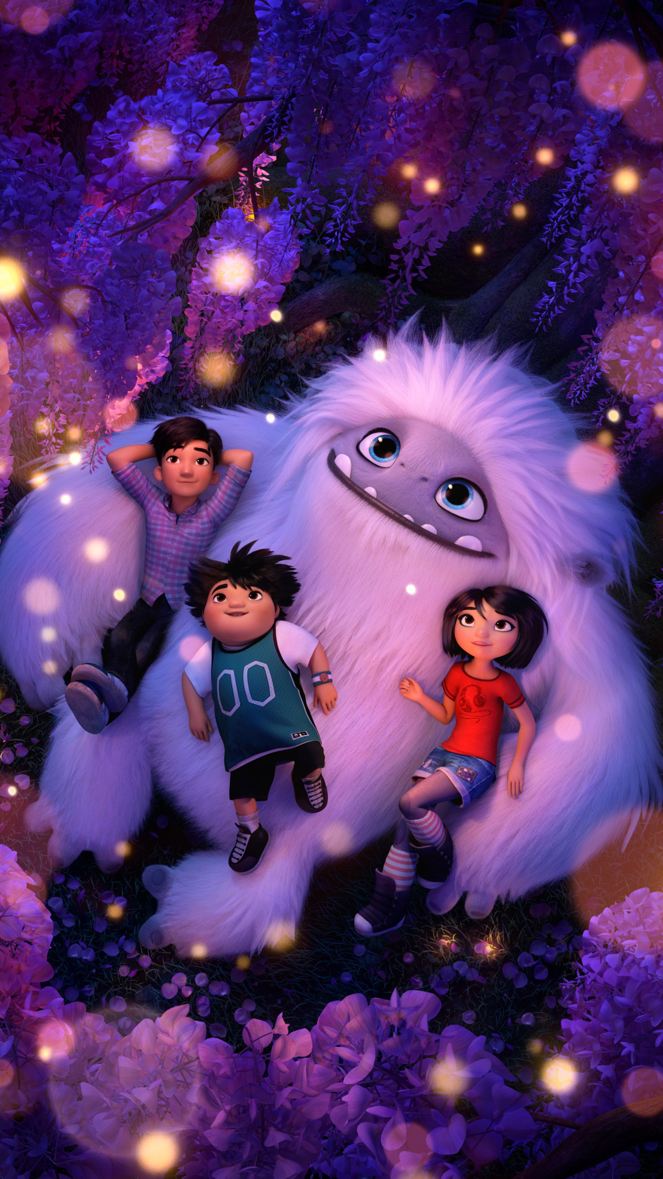2160x3840 Abominable Animated Movie 8k Sony Xperia X,XZ,Z5 ...